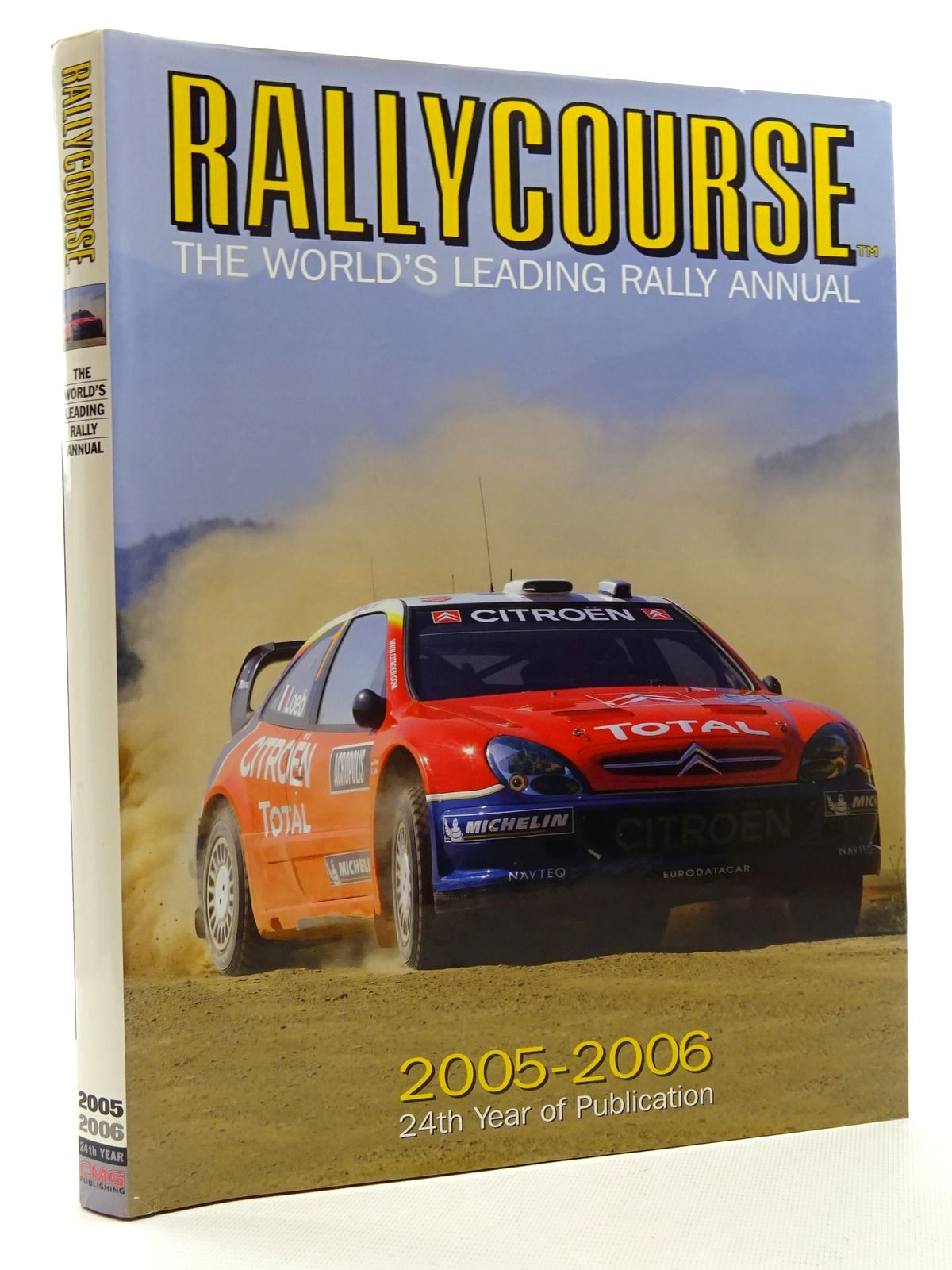 Photo of RALLYCOURSE 2005-2006 written by Williams, David published by Crash Media Group (STOCK CODE: 2125150)  for sale by Stella & Rose's Books