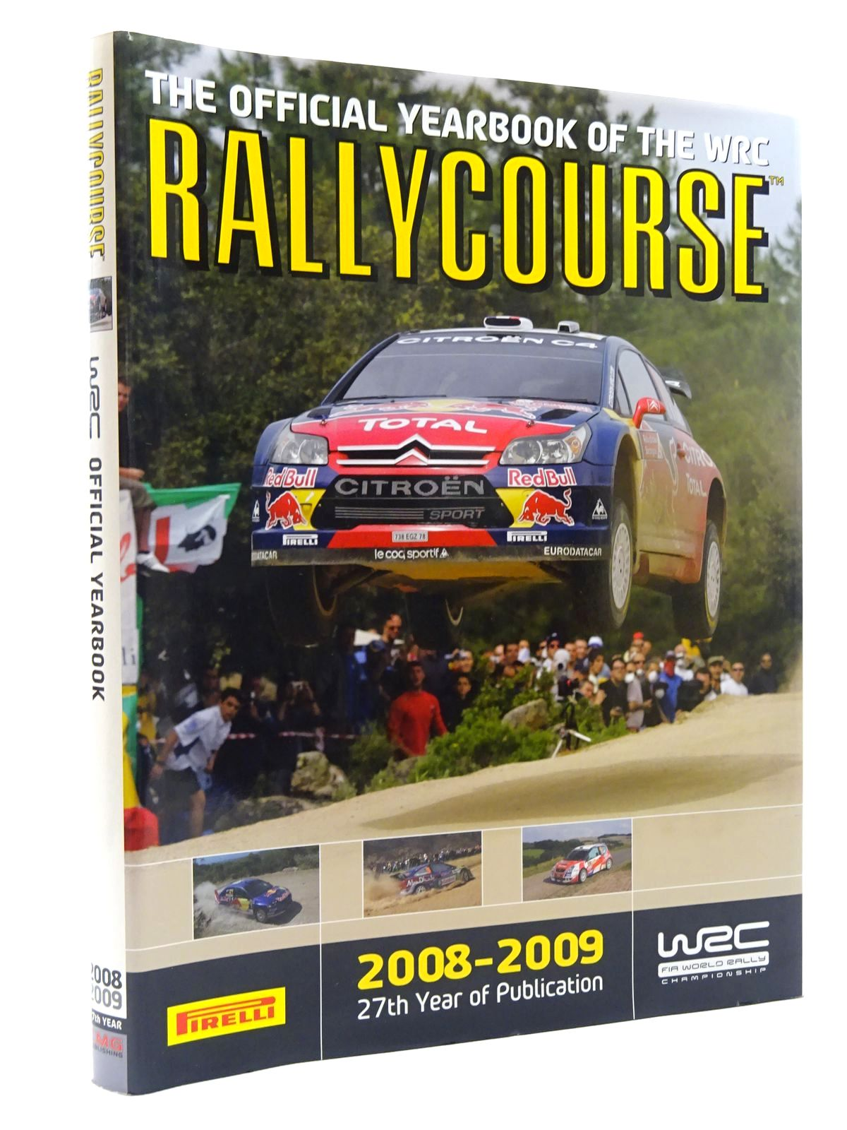 Photo of RALLYCOURSE 2008-2009 written by Evans, David published by Crash Media Group (STOCK CODE: 2125151)  for sale by Stella & Rose's Books