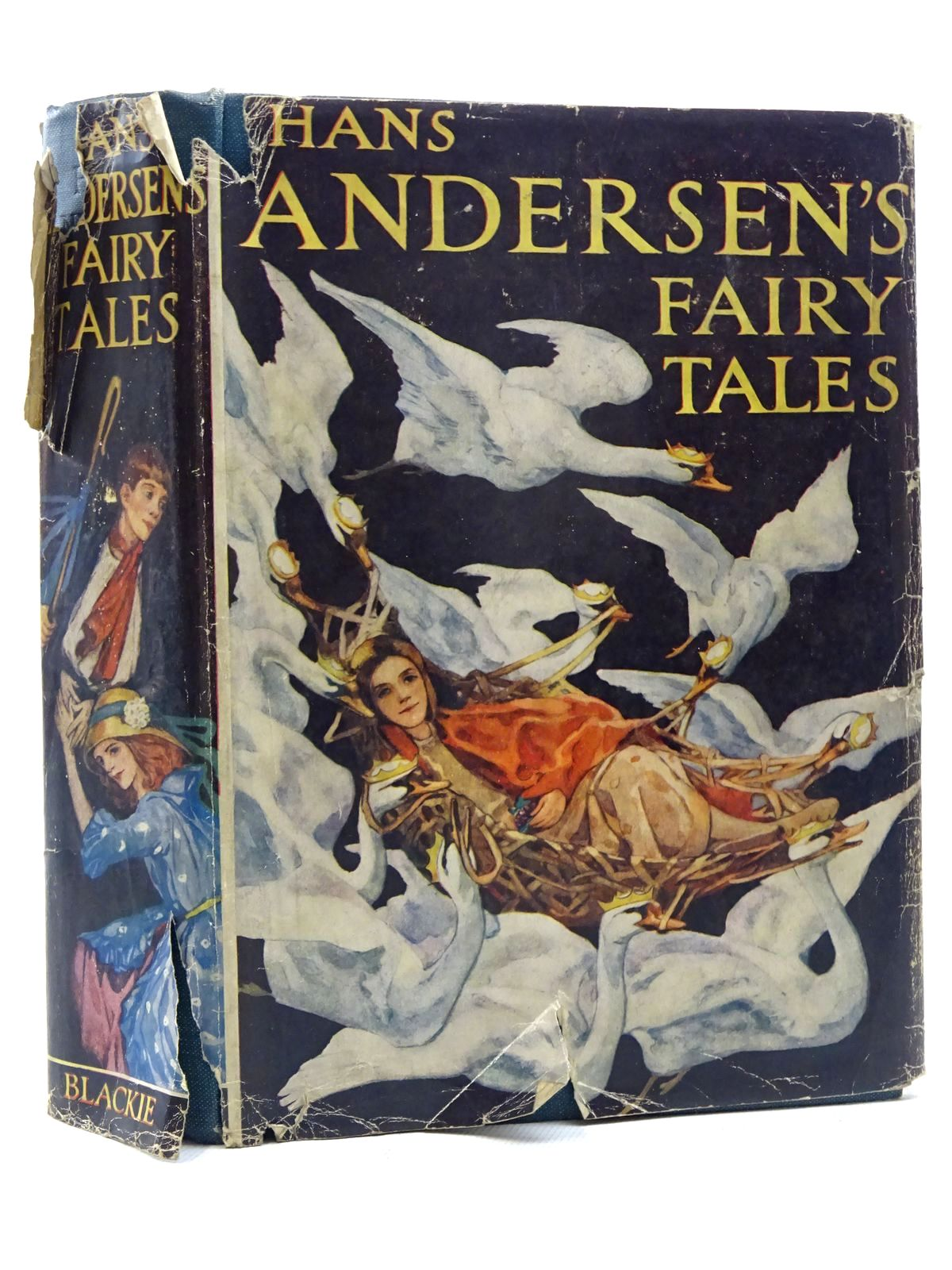 Photo of HANS ANDERSEN'S FAIRY TALES written by Andersen, Hans Christian illustrated by Stratton, Helen published by Blackie & Son Ltd. (STOCK CODE: 2125164)  for sale by Stella & Rose's Books