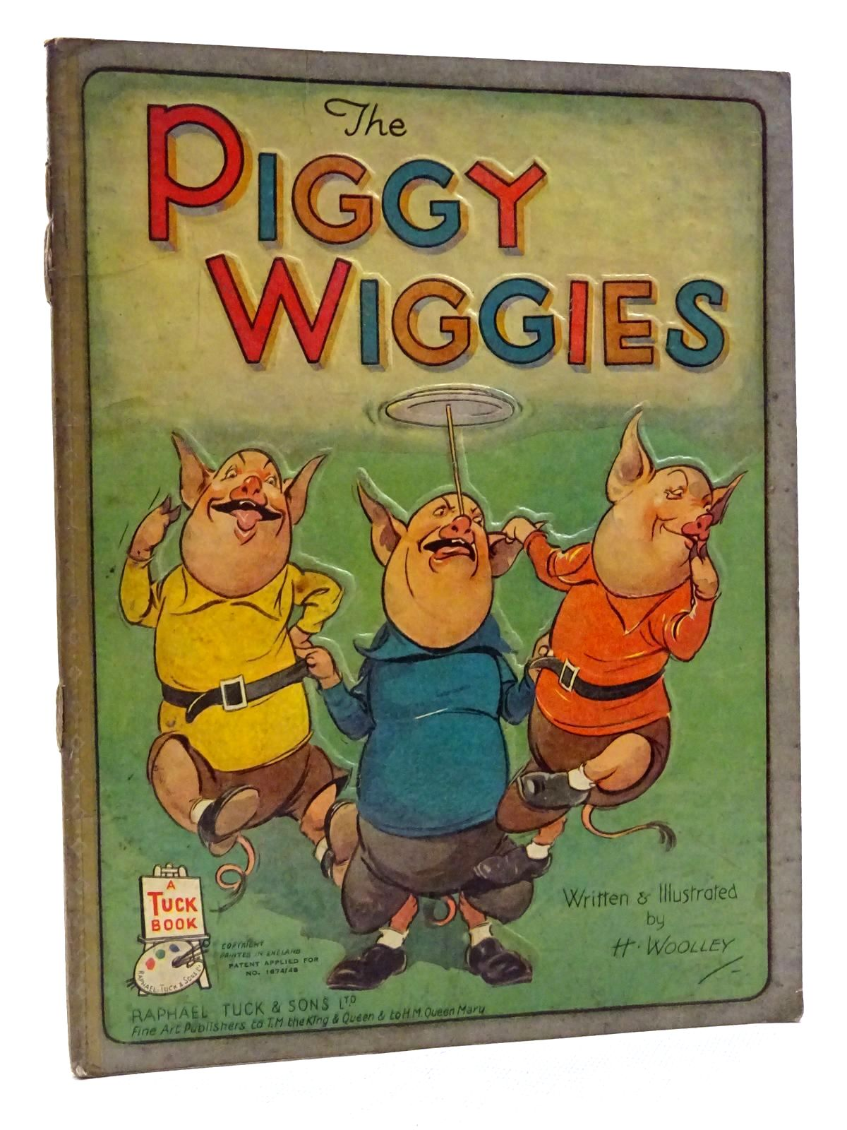 Photo of THE PIGGY WIGGIES written by Woolley, H. illustrated by Woolley, H. published by Raphael Tuck & Sons Ltd. (STOCK CODE: 2125168)  for sale by Stella & Rose's Books