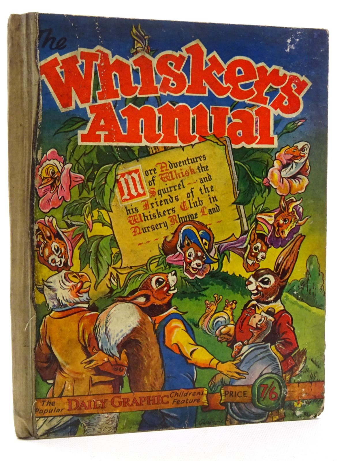 Photo of THE WHISKERS ANNUAL illustrated by Gwynne, published by Daily Graphic (STOCK CODE: 2125170)  for sale by Stella & Rose's Books