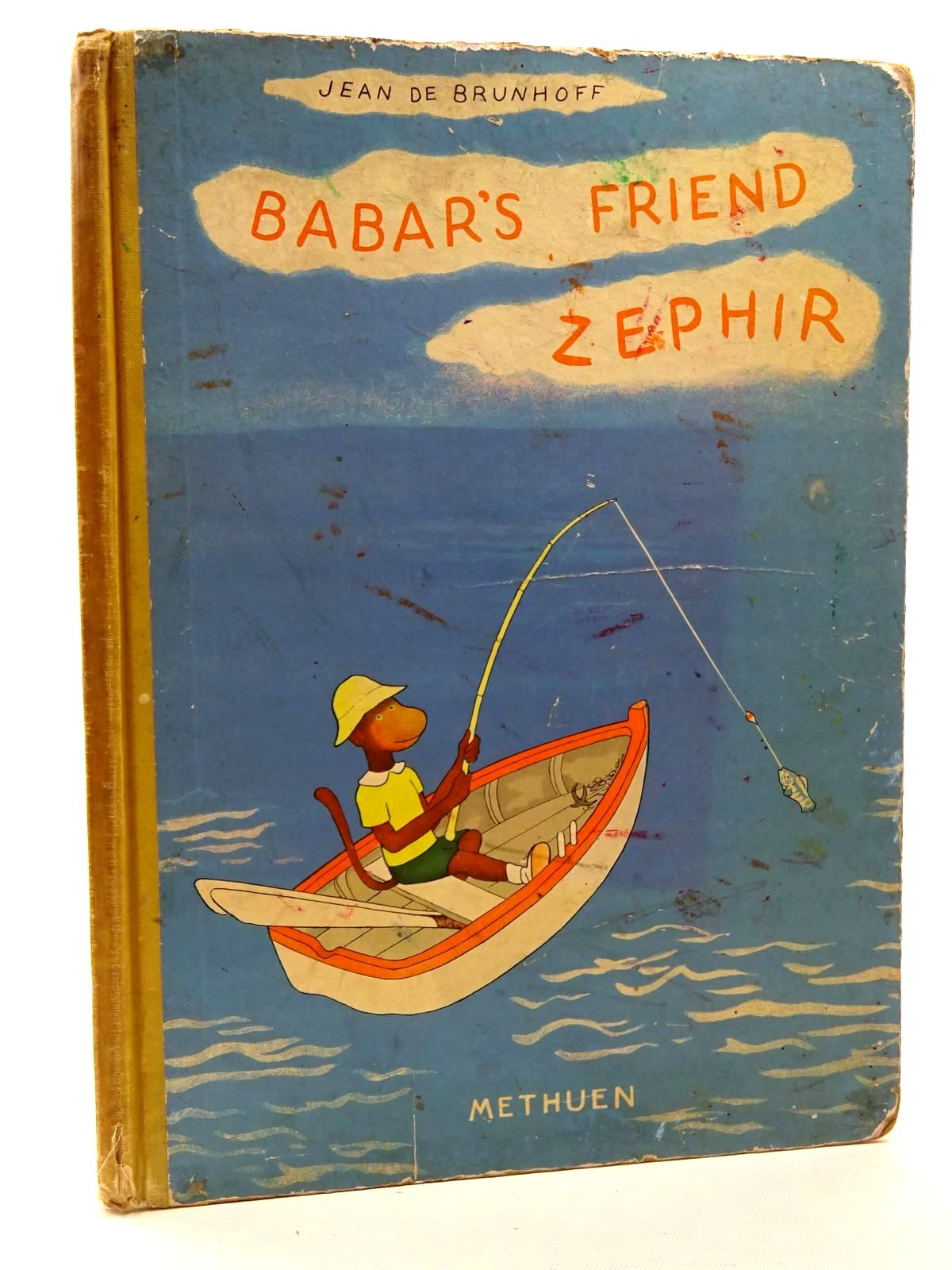 Photo of BABAR'S FRIEND ZEPHIR written by De Brunhoff, Jean illustrated by De Brunhoff, Jean published by Methuen & Co. Ltd. (STOCK CODE: 2125178)  for sale by Stella & Rose's Books