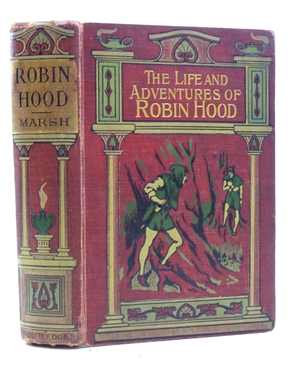 Photo of THE LIFE AND ADVENTURES OF ROBIN HOOD written by Marsh, John B. published by George Routledge and Sons Limited (STOCK CODE: 2125193)  for sale by Stella & Rose's Books