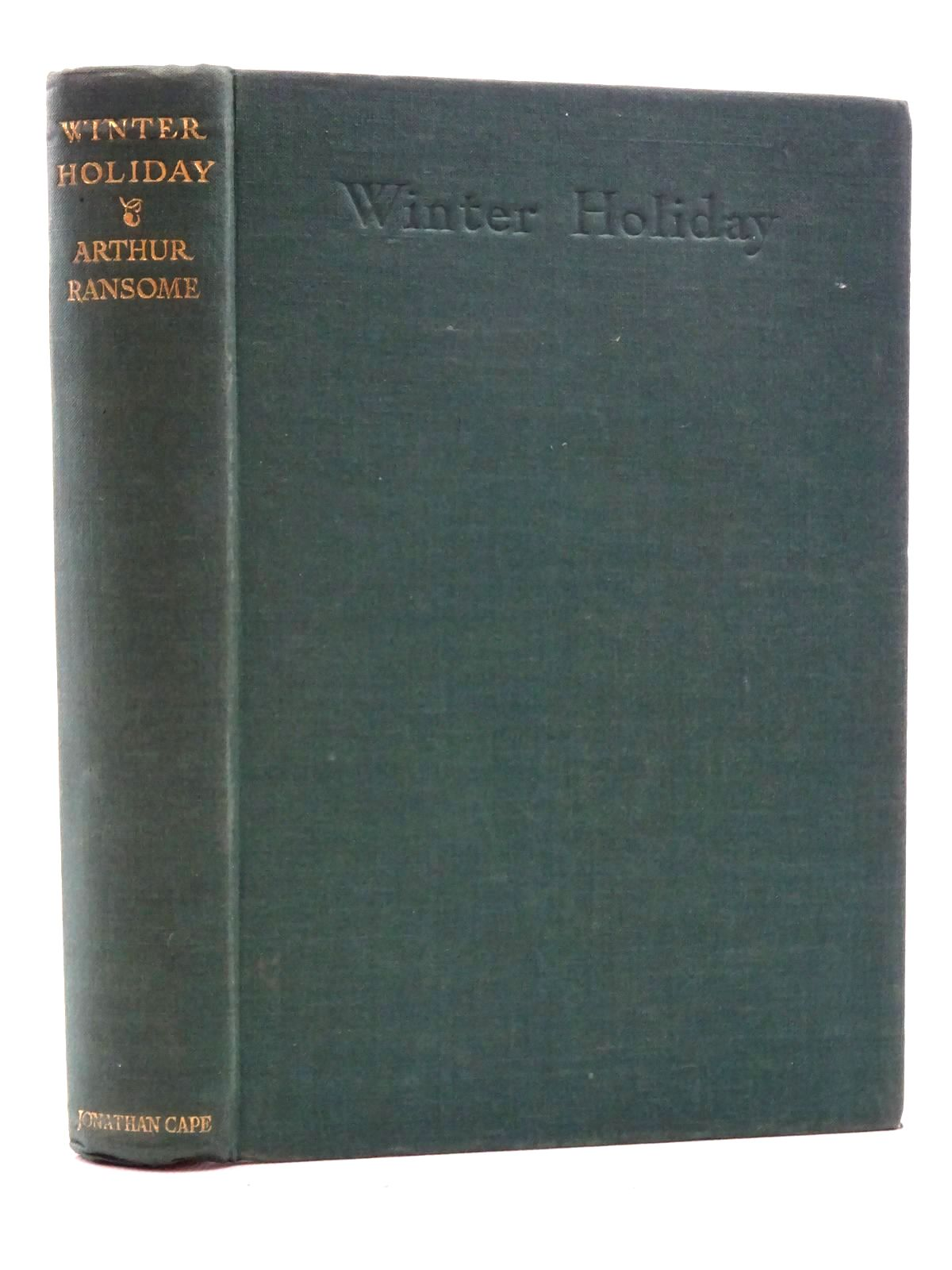 Photo of WINTER HOLIDAY written by Ransome, Arthur illustrated by Ransome, Arthur published by Jonathan Cape (STOCK CODE: 2125199)  for sale by Stella & Rose's Books