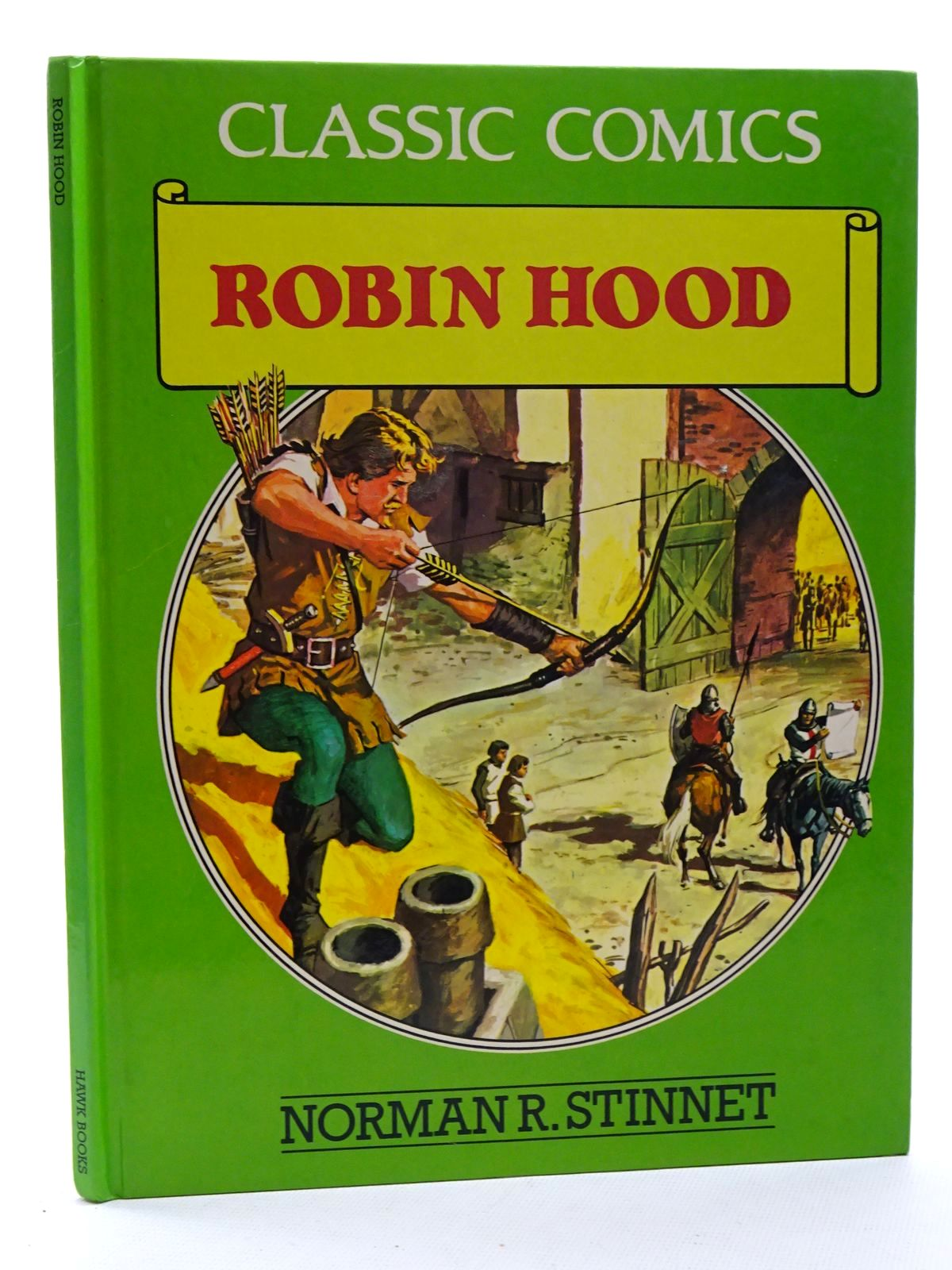 Photo of ROBIN HOOD written by Stinnet, Norman R.<br />Kimberly, Marion published by Hawk Books (STOCK CODE: 2125213)  for sale by Stella & Rose's Books