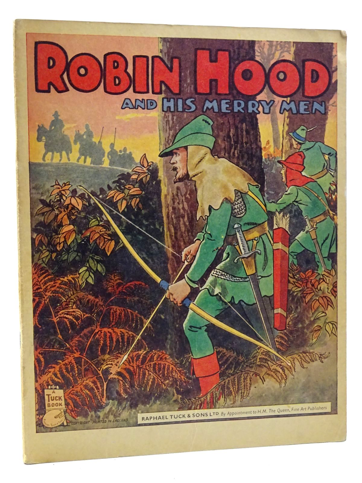 Photo of ROBIN HOOD AND HIS MERRY MEN written by Trelleck,  illustrated by Trelleck,  published by Raphael Tuck (STOCK CODE: 2125222)  for sale by Stella & Rose's Books