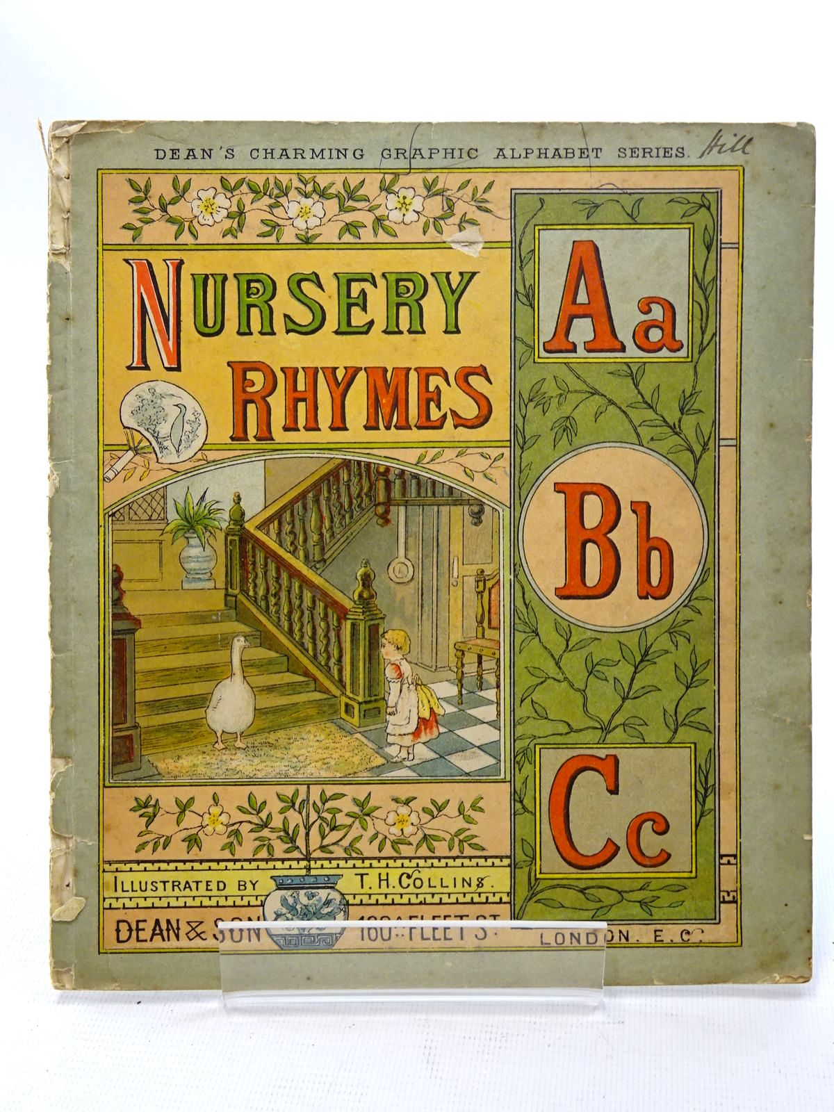 Photo of NURSERY RHYMES ABC illustrated by Collins, T.H. published by Dean & Son (STOCK CODE: 2125234)  for sale by Stella & Rose's Books