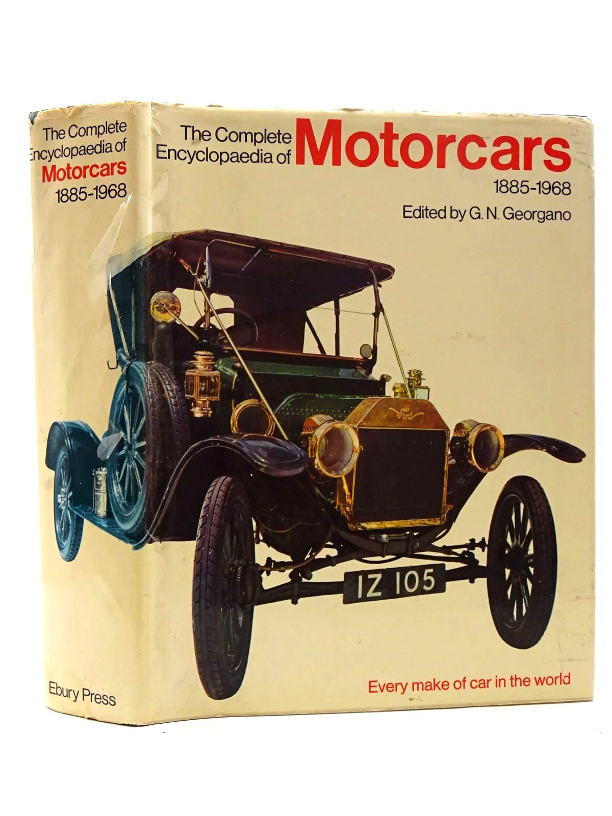 Photo of THE COMPLETE ENCYCLOPAEDIA OF MOTORCARS 1885 - 1968 written by Georgano, G.N. published by Ebury Press (STOCK CODE: 2125236)  for sale by Stella & Rose's Books