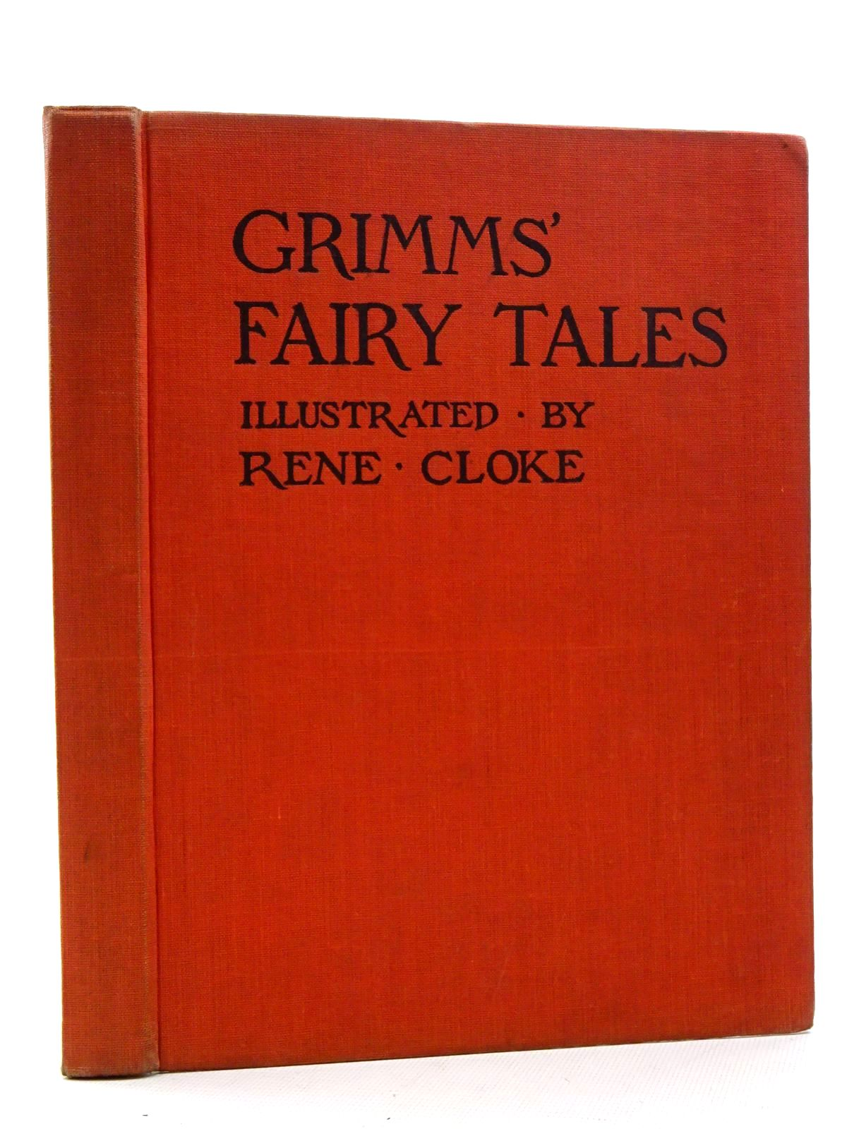 Photo of GRIMM'S FAIRY TALES written by Grimm, Brothers illustrated by Cloke, Rene published by P.R. Gawthorn Ltd. (STOCK CODE: 2125245)  for sale by Stella & Rose's Books