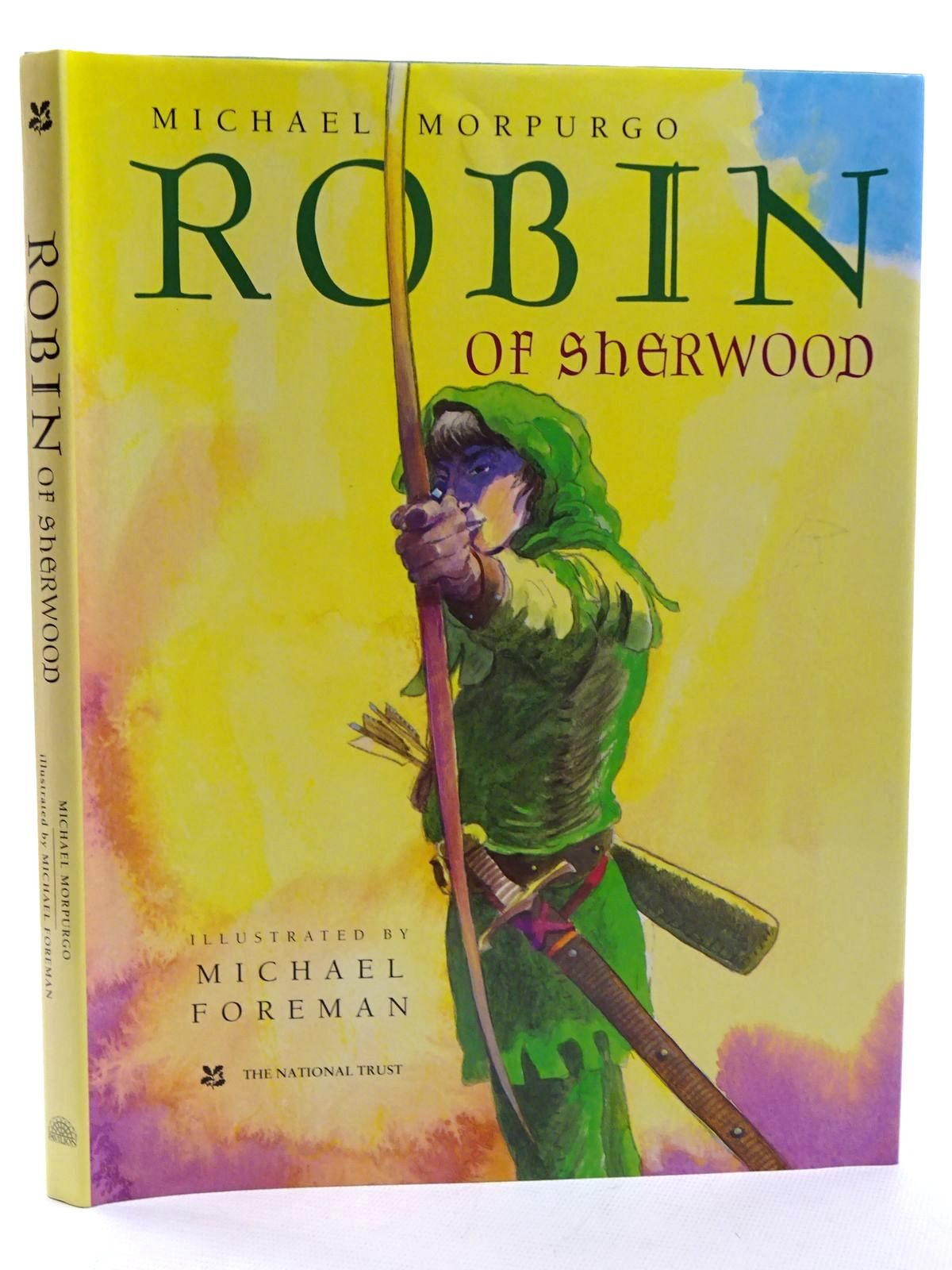 Photo of ROBIN OF SHERWOOD written by Morpurgo, Michael illustrated by Foreman, Michael published by Pavilion Books Ltd. (STOCK CODE: 2125263)  for sale by Stella & Rose's Books