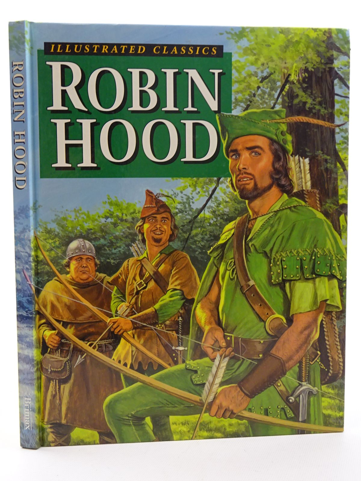 Photo of ROBIN HOOD written by Sutton, Rosalind illustrated by Rowe, Eric F. published by Brimax Books (STOCK CODE: 2125264)  for sale by Stella & Rose's Books