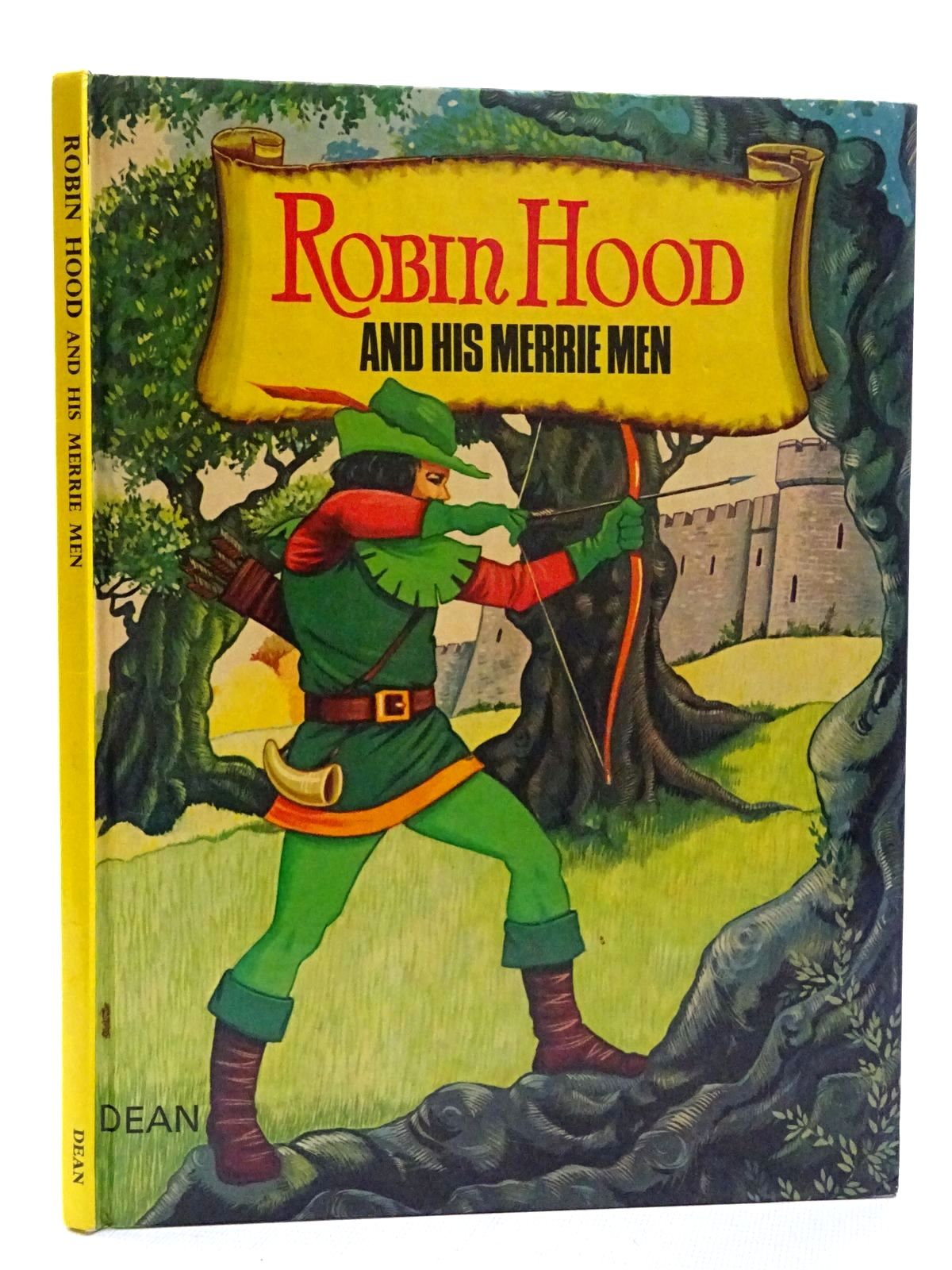 Photo of ROBIN HOOD AND HIS MERRIE MEN written by Dunlop, Roger illustrated by Leeder, John published by Dean & Son Ltd. (STOCK CODE: 2125276)  for sale by Stella & Rose's Books