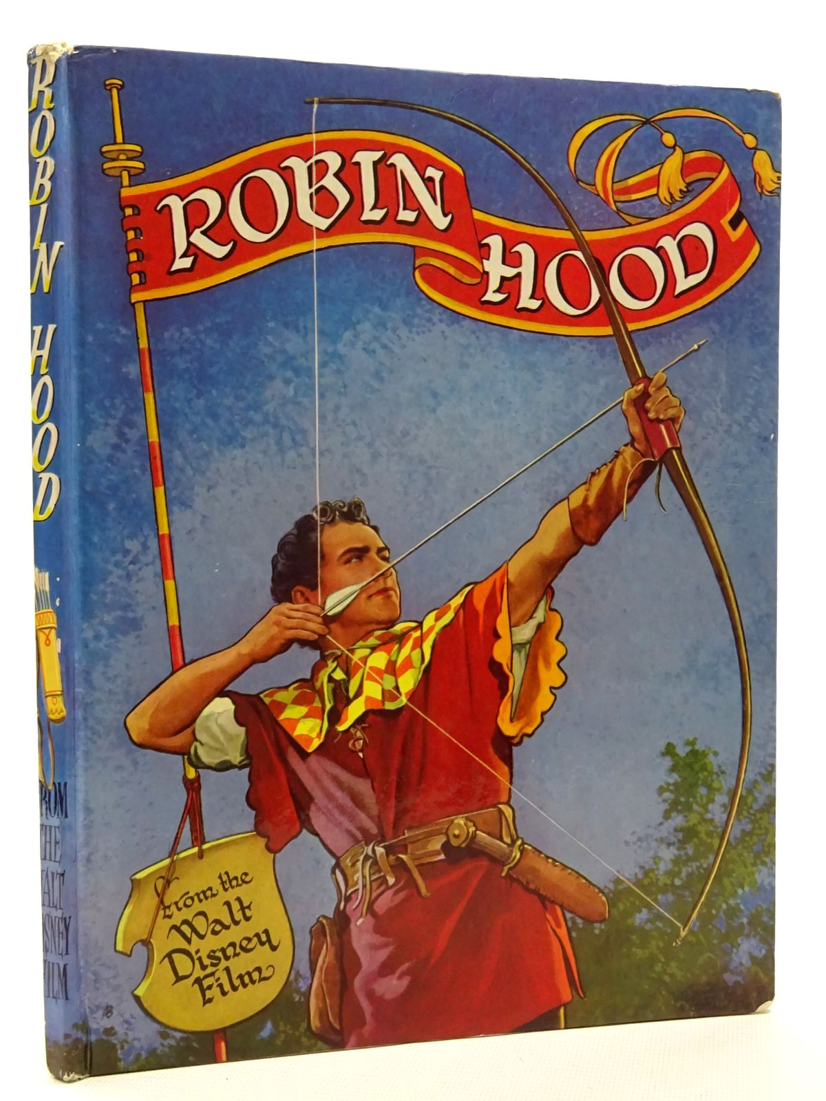 Photo of WALT DISNEY'S ROBIN HOOD written by Disney, Walt published by L.T.A. Robinson Ltd. (STOCK CODE: 2125277)  for sale by Stella & Rose's Books