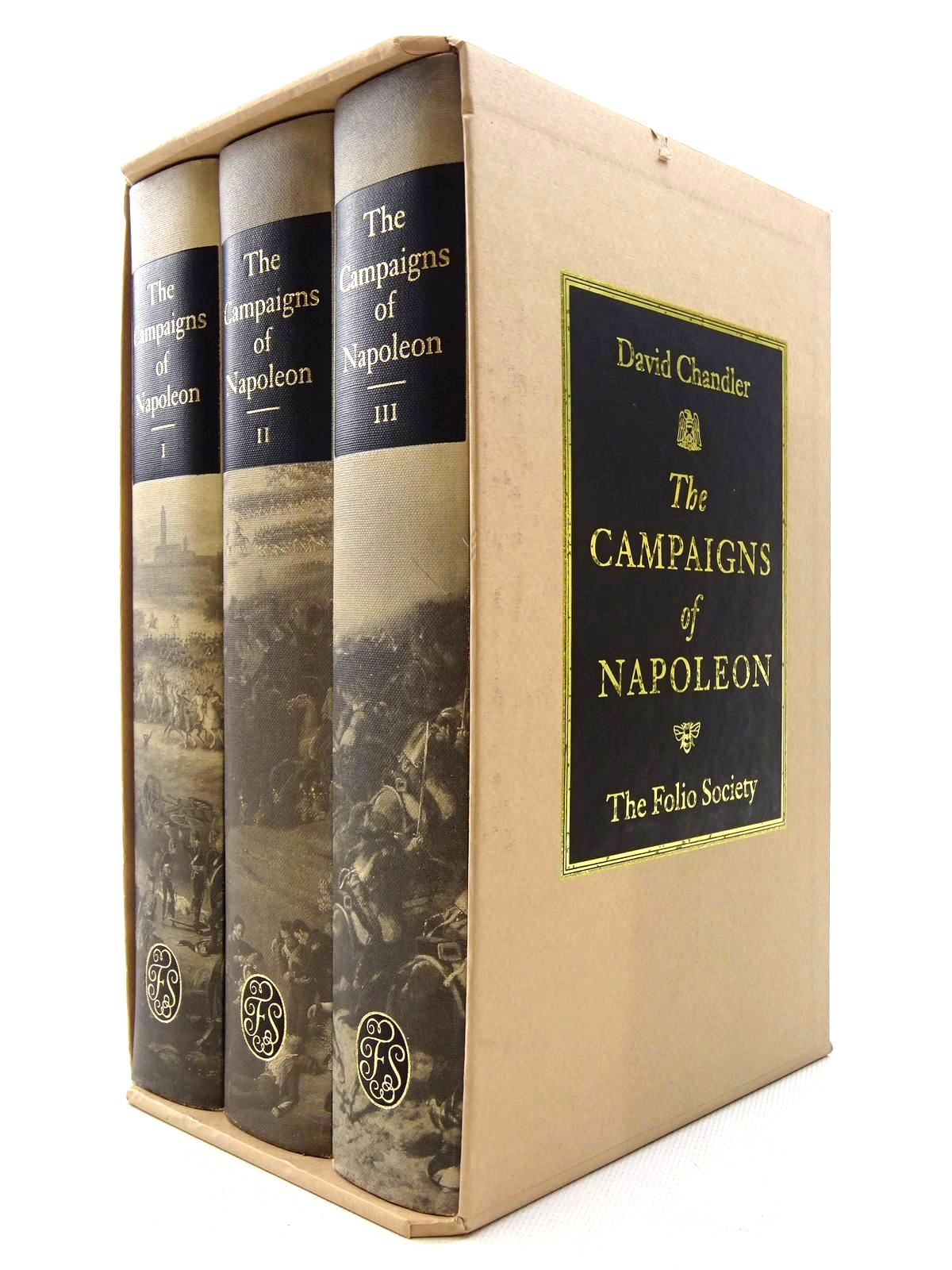 Photo of THE CAMPAIGNS OF NAPOLEON (3 VOLUMES) written by Chandler, David G. published by Folio Society (STOCK CODE: 2125294)  for sale by Stella & Rose's Books