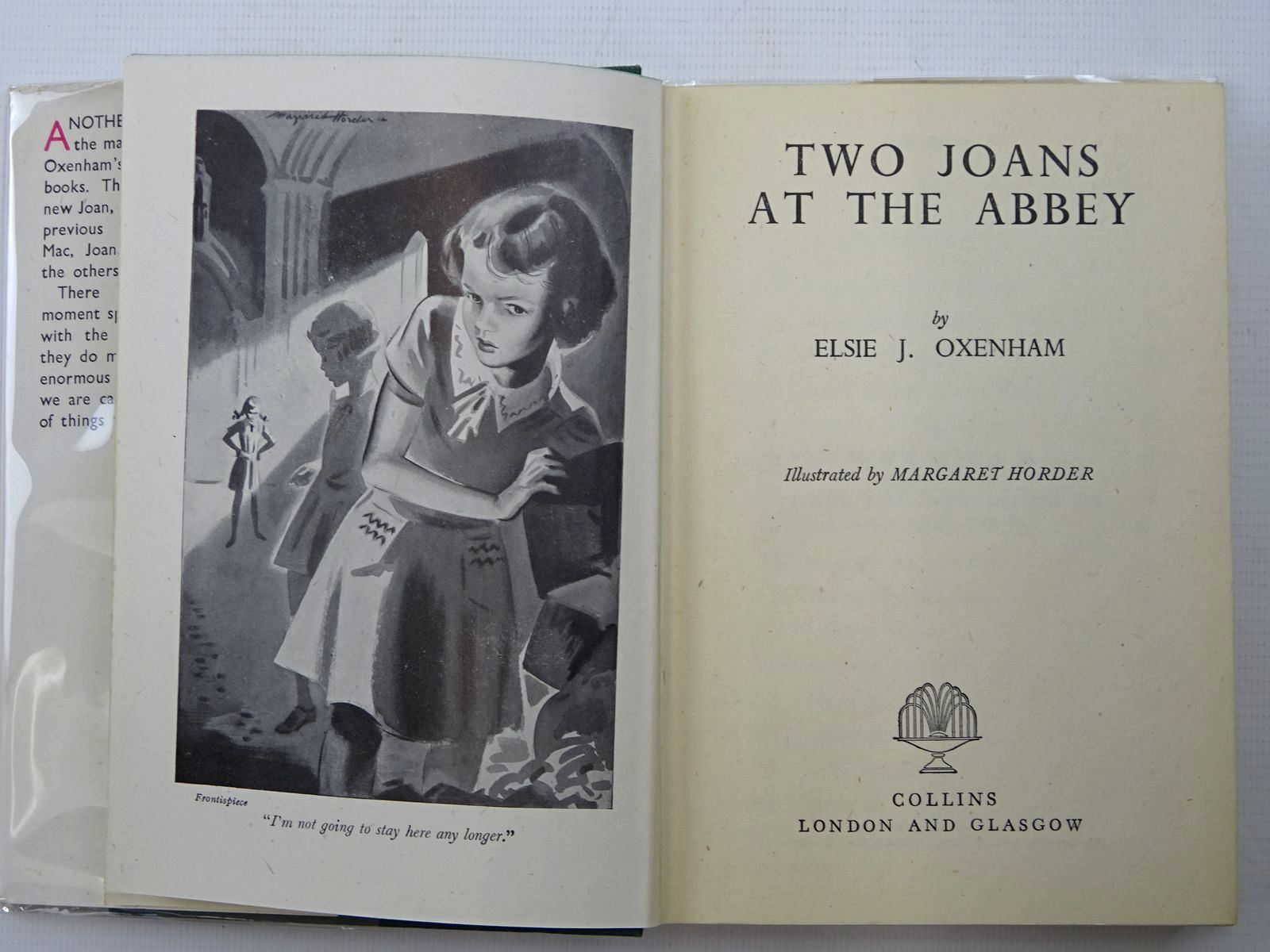 Photo of TWO JOANS AT THE ABBEY written by Oxenham, Elsie J. illustrated by Horder, Margaret published by Collins (STOCK CODE: 2125298)  for sale by Stella & Rose's Books