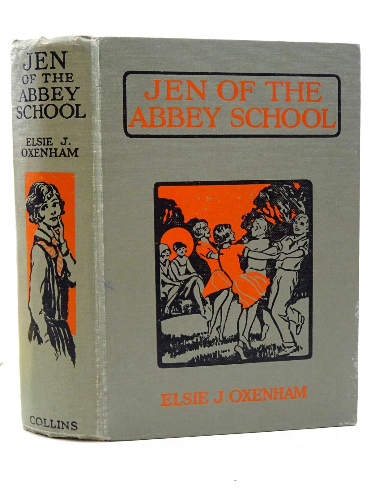 Photo of JEN OF THE ABBEY SCHOOL written by Oxenham, Elsie J. illustrated by Meyerheim, Florence published by Collins Clear-Type Press (STOCK CODE: 2125329)  for sale by Stella & Rose's Books