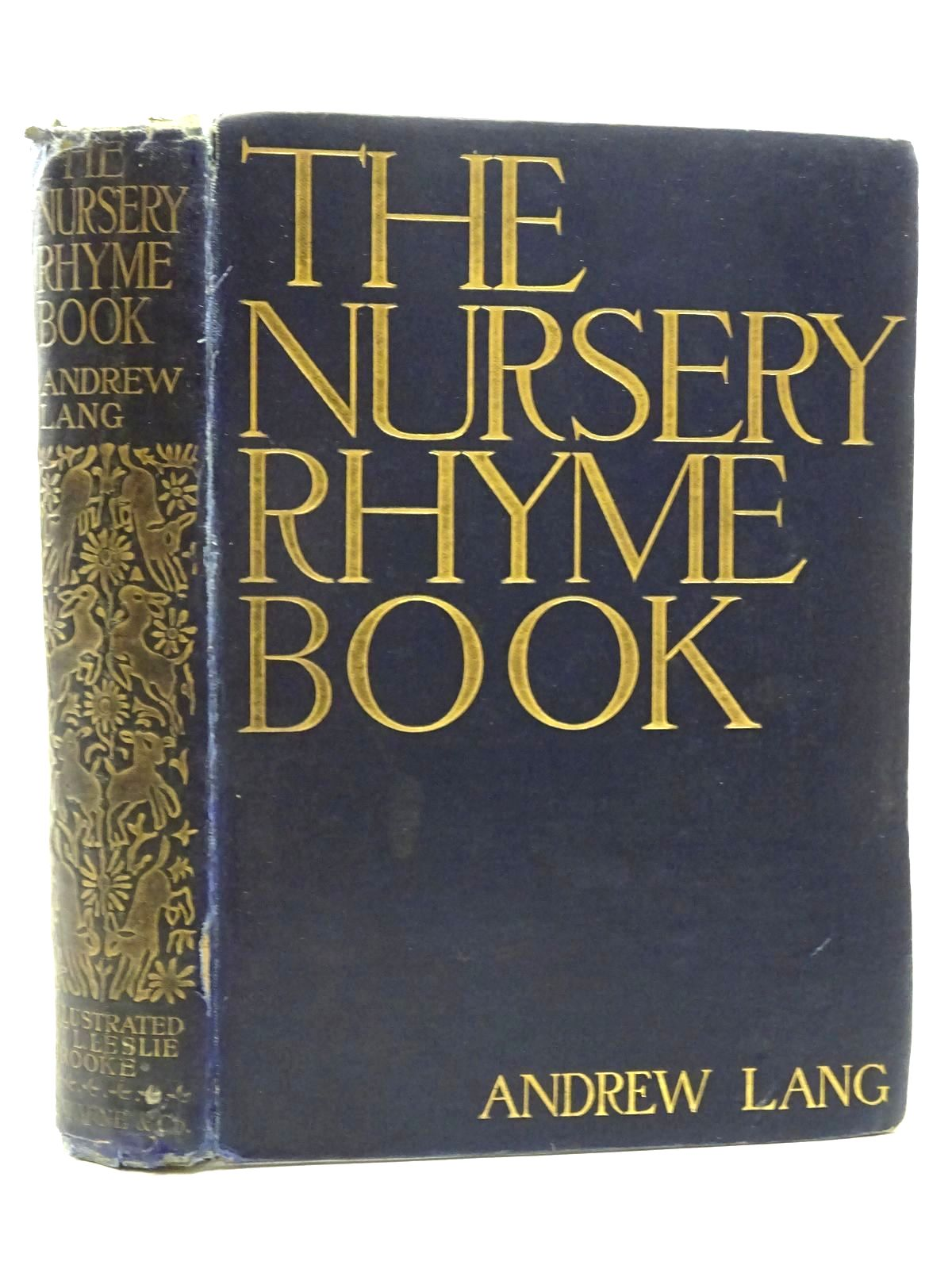 Photo of THE NURSERY RHYME BOOK written by Lang, Andrew illustrated by Brooke, L. Leslie published by Frederick Warne & Co. (STOCK CODE: 2125331)  for sale by Stella & Rose's Books