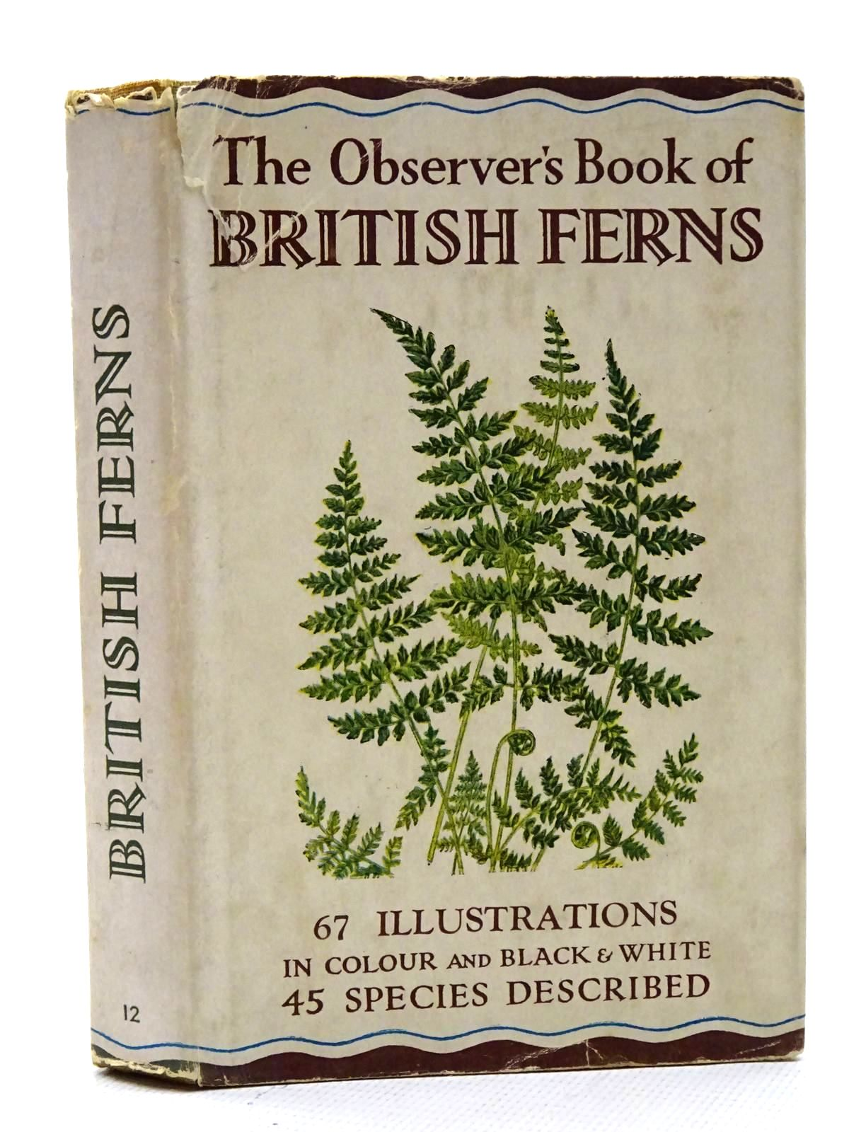 Photo of THE OBSERVER'S BOOK OF BRITISH FERNS