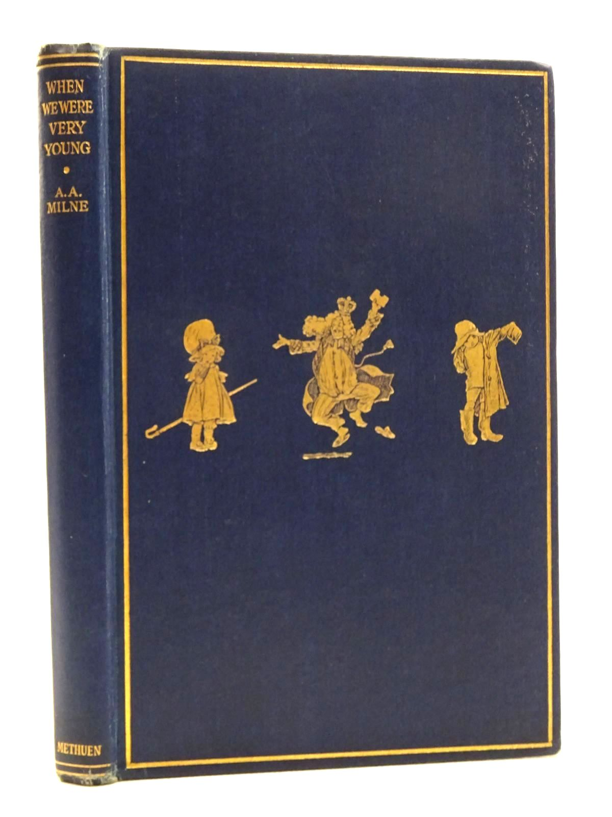 Photo of WHEN WE WERE VERY YOUNG written by Milne, A.A. illustrated by Shepard, E.H. published by Methuen & Co. Ltd. (STOCK CODE: 2125345)  for sale by Stella & Rose's Books