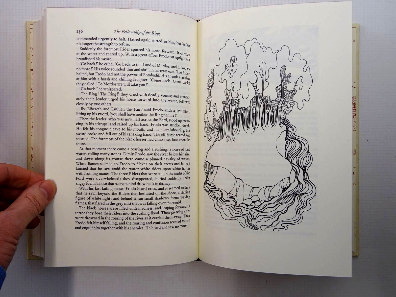 Photo of THE LORD OF THE RINGS written by Tolkien, J.R.R. illustrated by Grathmer, Ingahild<br />Fraser, Eric published by Folio Society (STOCK CODE: 2125351)  for sale by Stella & Rose's Books