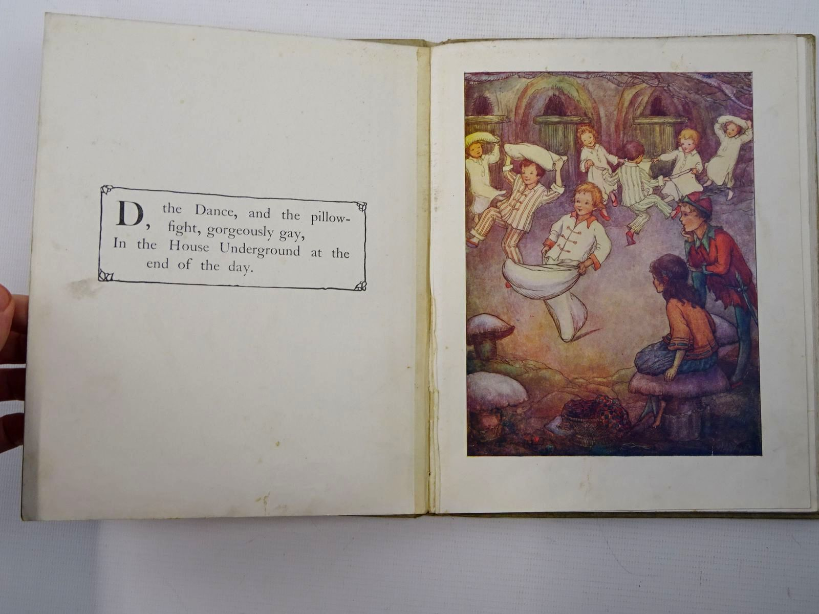Photo of PETER PAN'S ABC written by Barrie, J.M. illustrated by White, Flora published by Oxford University Press, Humphrey Milford (STOCK CODE: 2125360)  for sale by Stella & Rose's Books