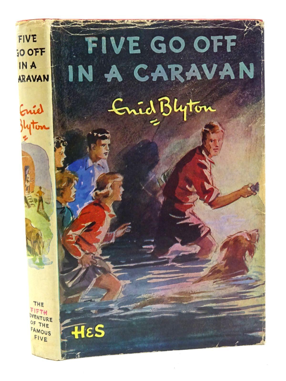 Photo of FIVE GO OFF IN A CARAVAN- Stock Number: 2125372