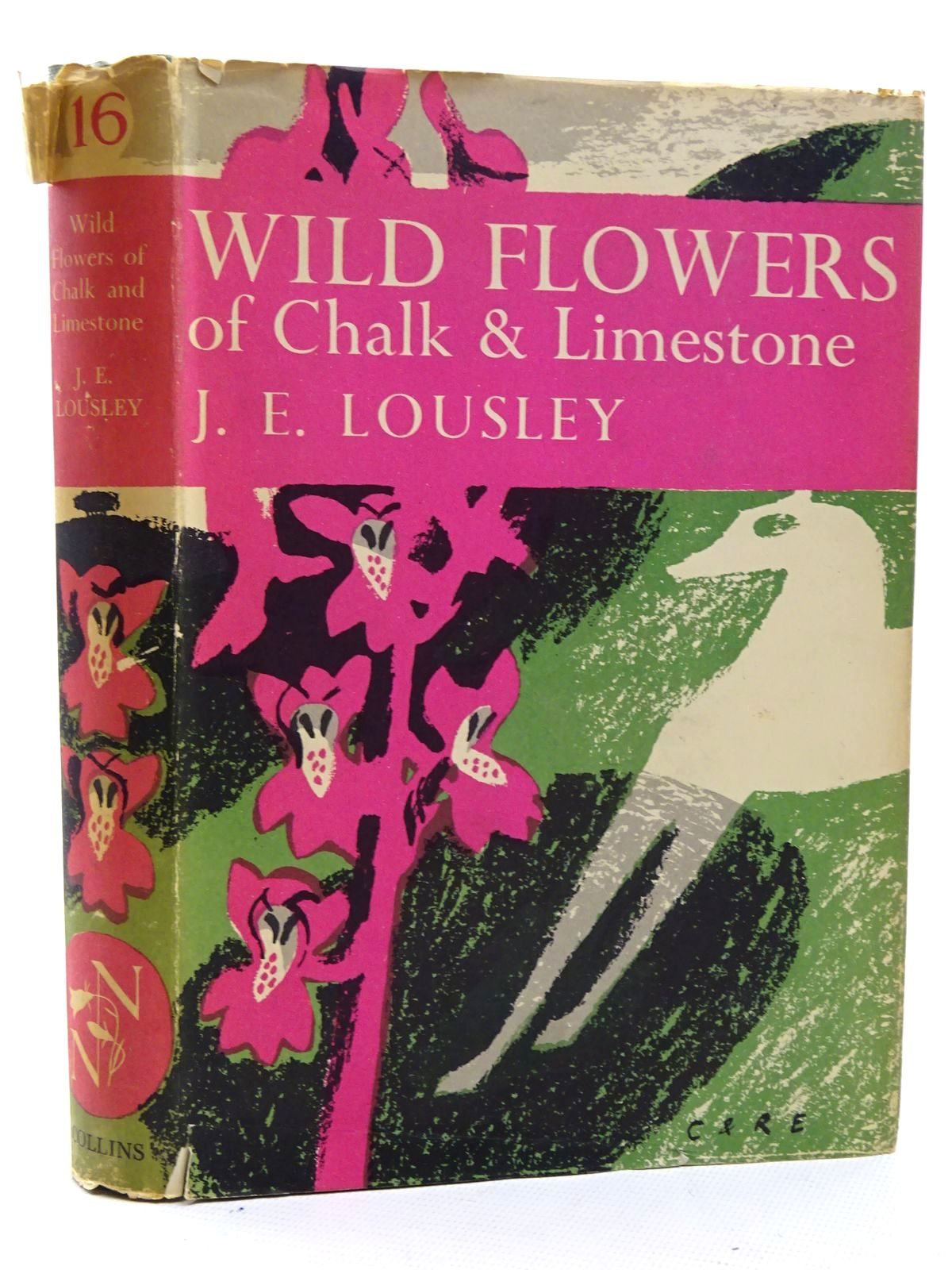 Photo of WILD FLOWERS OF CHALK & LIMESTONE (NN 16) written by Lousley, J.E. published by Collins (STOCK CODE: 2125404)  for sale by Stella & Rose's Books