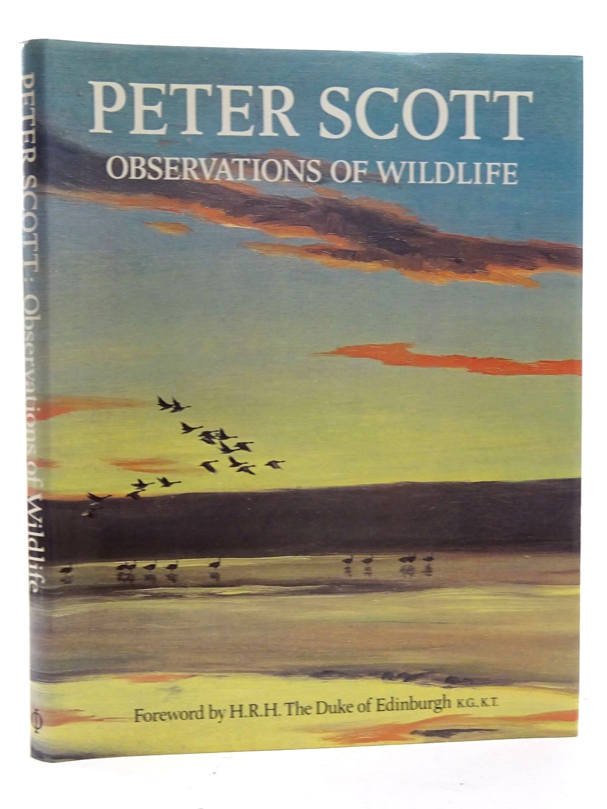 Photo of OBSERVATIONS OF WILDLIFE written by Scott, Peter illustrated by Scott, Peter published by Phaidon (STOCK CODE: 2125411)  for sale by Stella & Rose's Books