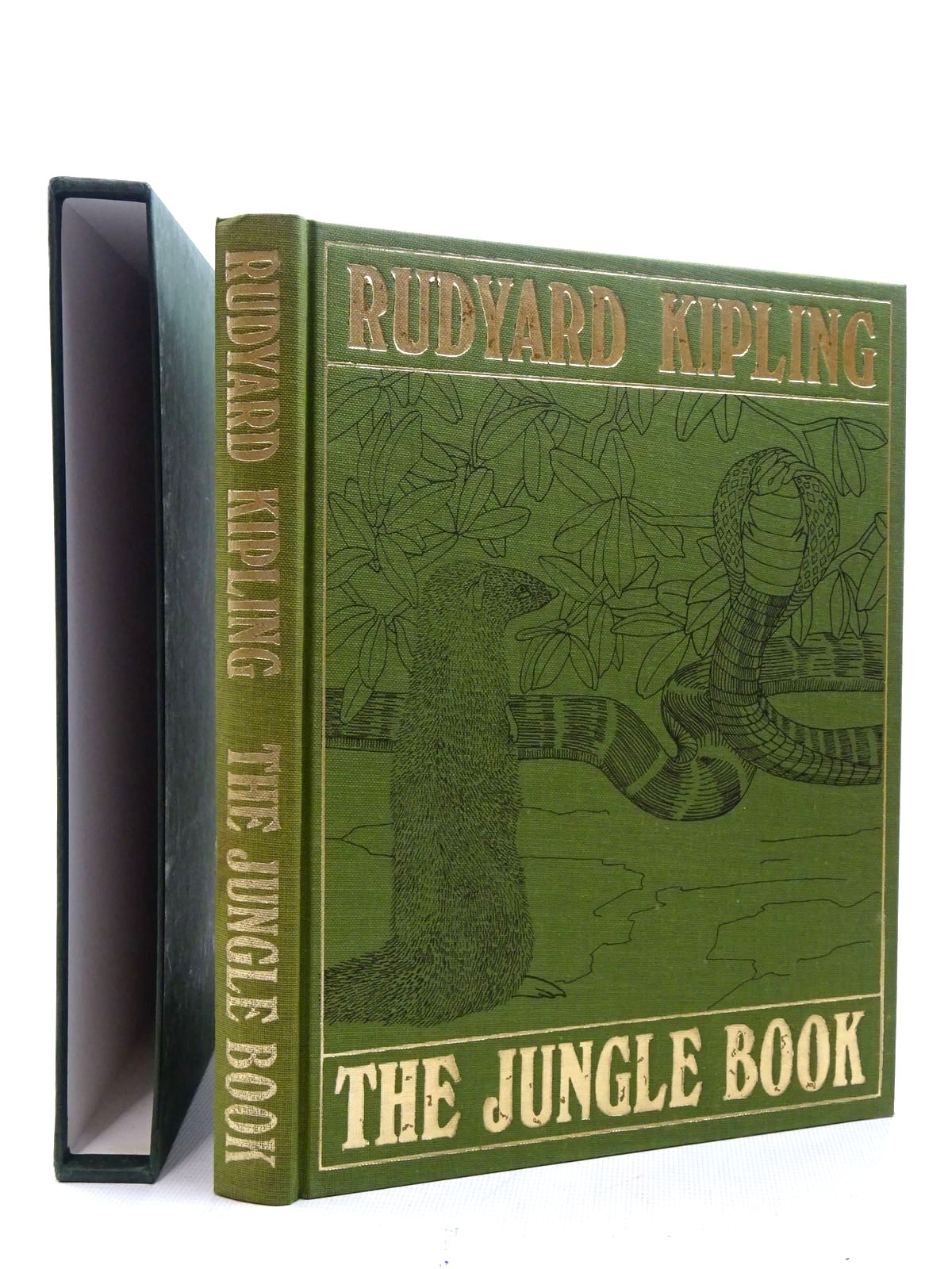 Photo of THE JUNGLE BOOK written by Kipling, Rudyard illustrated by Detmold, Maurice<br />Detmold, Edward J. published by Folio Society (STOCK CODE: 2125423)  for sale by Stella & Rose's Books