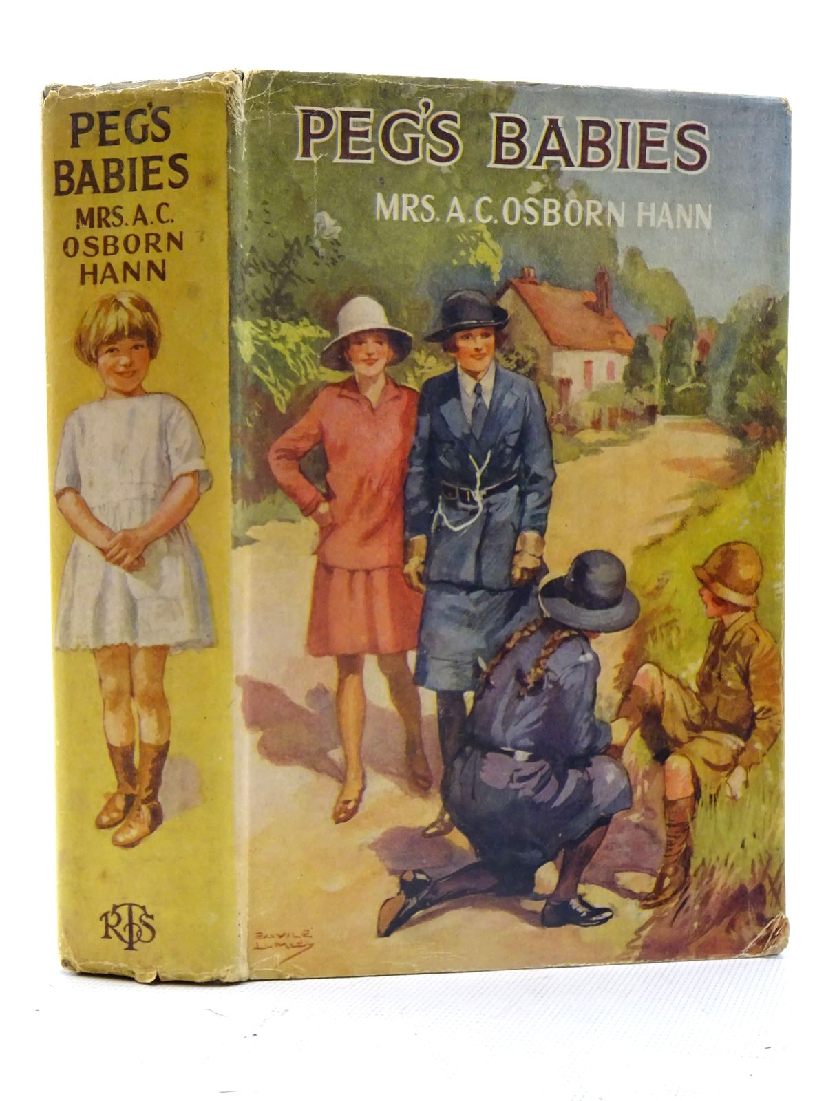 Photo of PEG'S BABIES written by Hann, Mrs. A.C. Osborn published by The Religious Tract Society (STOCK CODE: 2125450)  for sale by Stella & Rose's Books