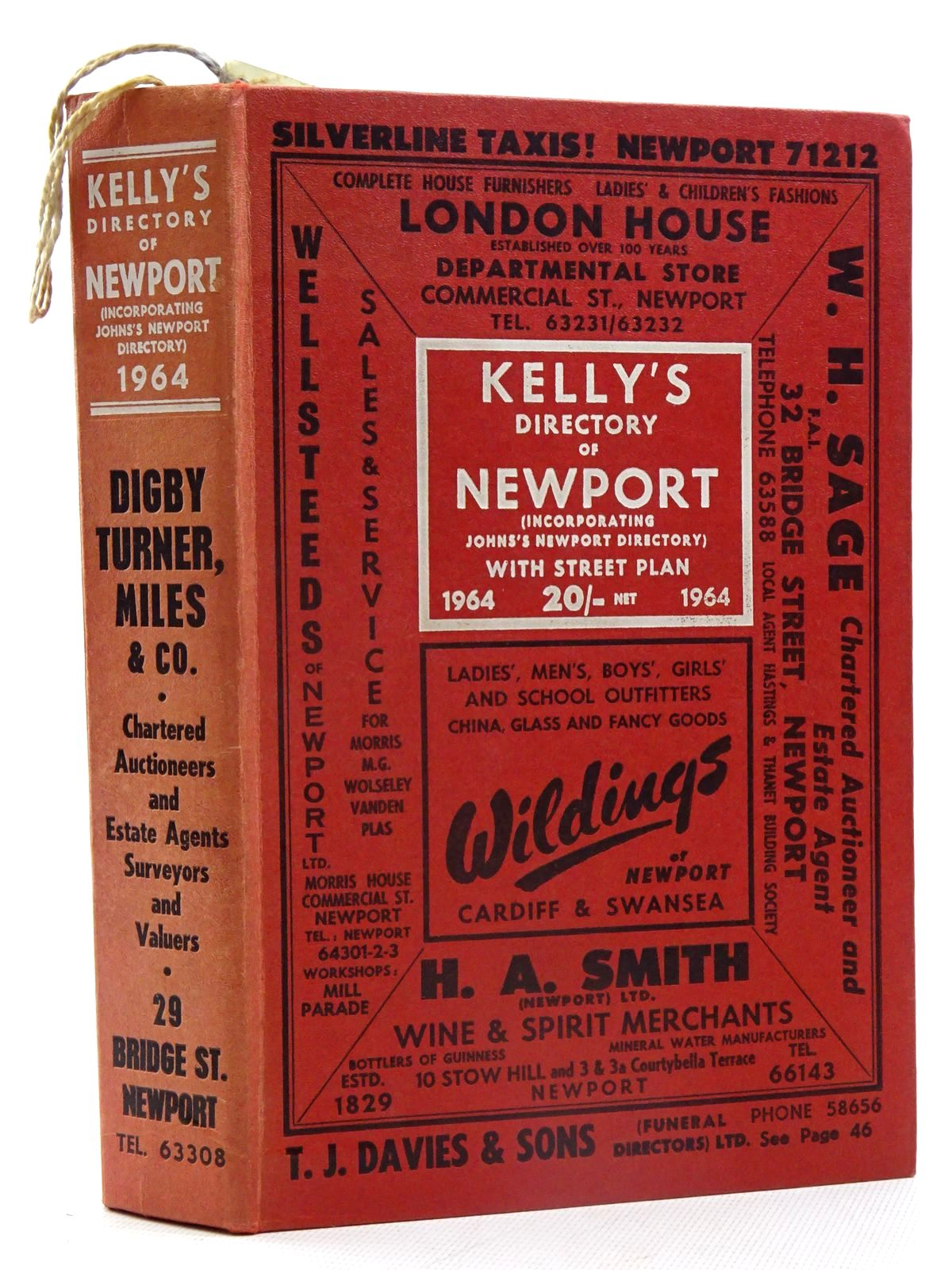 Photo of KELLY'S DIRECTORY OF NEWPORT 1964