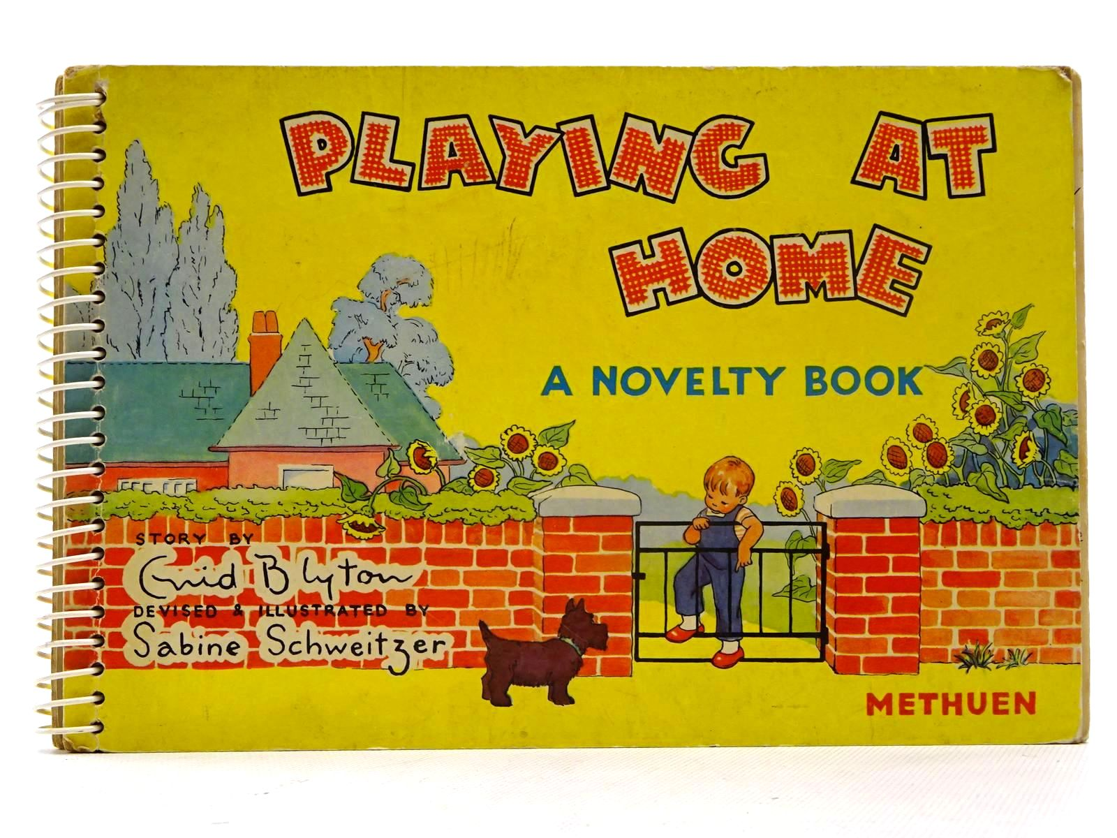 Photo of PLAYING AT HOME written by Blyton, Enid illustrated by Schweitzer, Sabine published by Methuen & Co. Ltd. (STOCK CODE: 2125459)  for sale by Stella & Rose's Books