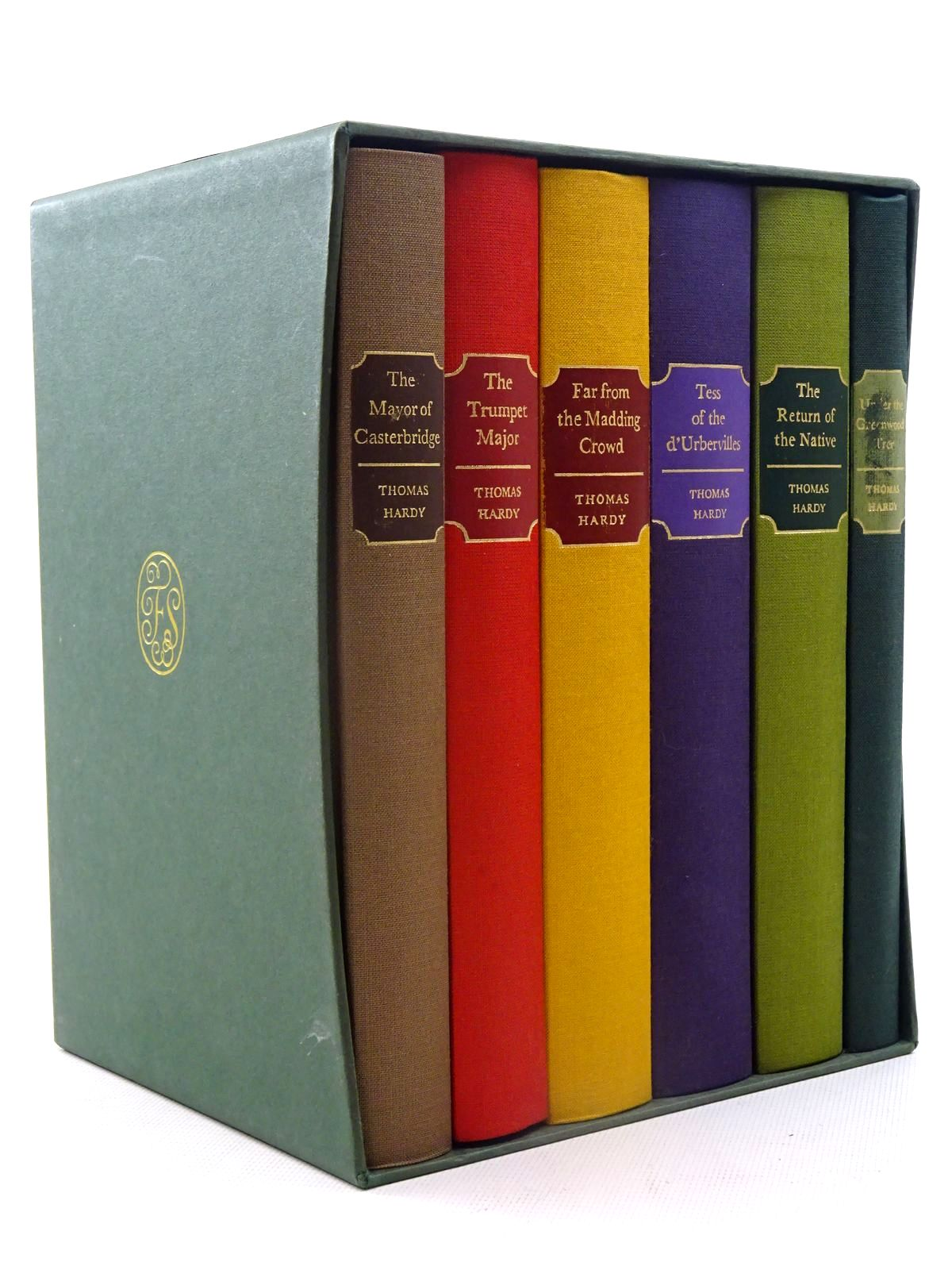 Photo of THE MAYOR OF CASTERBRIDGE; THE TRUMPET MAJOR; FAR FROM THE MADDING CROWD; TESS OF THE D'URBERVILLES; THE RETURN OF THE NATIVE; UNDER THE GREENWOOD TREE (6 VOLUMES) written by Hardy, Thomas published by Folio Society (STOCK CODE: 2125462)  for sale by Stella & Rose's Books