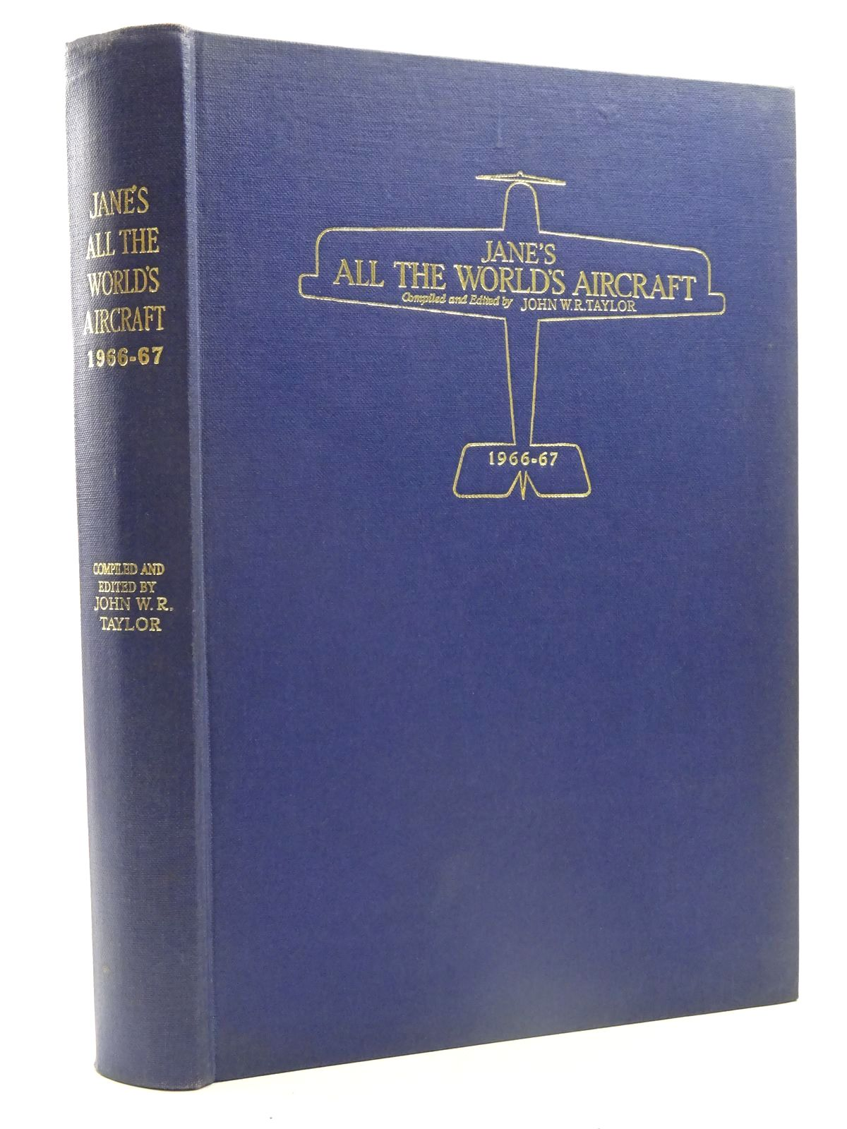 Photo of JANE'S ALL THE WORLD'S AIRCRAFT 1966-67 written by Taylor, John W.R. published by Sampson Low, Marston & Co. Ltd. (STOCK CODE: 2125473)  for sale by Stella & Rose's Books