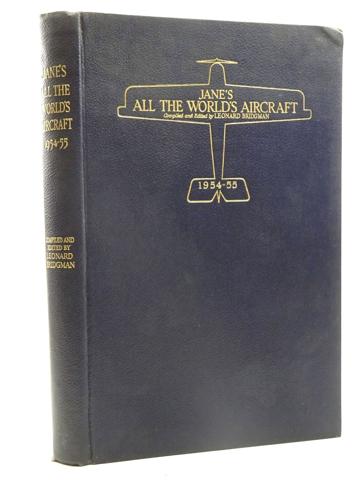 Photo of JANE'S ALL THE WORLD'S AIRCRAFT 1954-55 written by Bridgman, Leonard published by Sampson Low, Marston & Co. Ltd. (STOCK CODE: 2125474)  for sale by Stella & Rose's Books