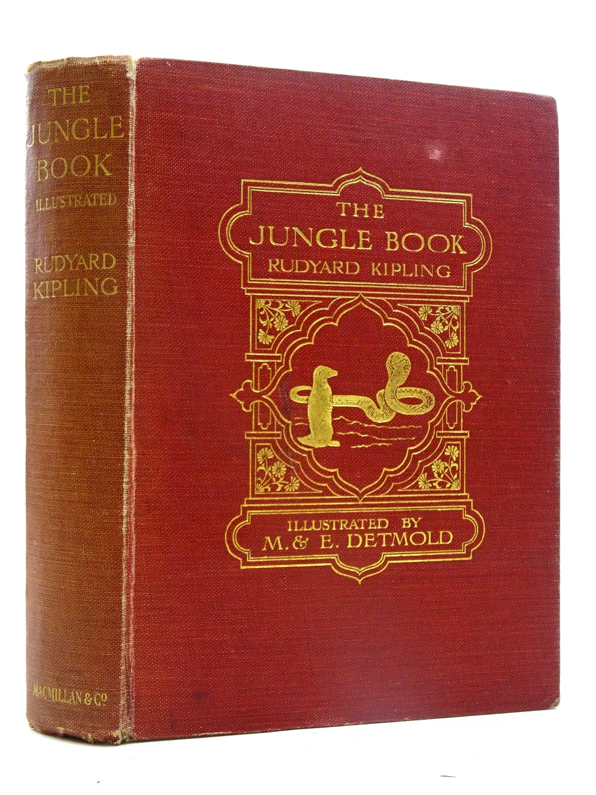 Photo of THE JUNGLE BOOK written by Kipling, Rudyard illustrated by Detmold, Maurice<br />Detmold, Edward J. published by Macmillan & Co. Ltd. (STOCK CODE: 2125501)  for sale by Stella & Rose's Books