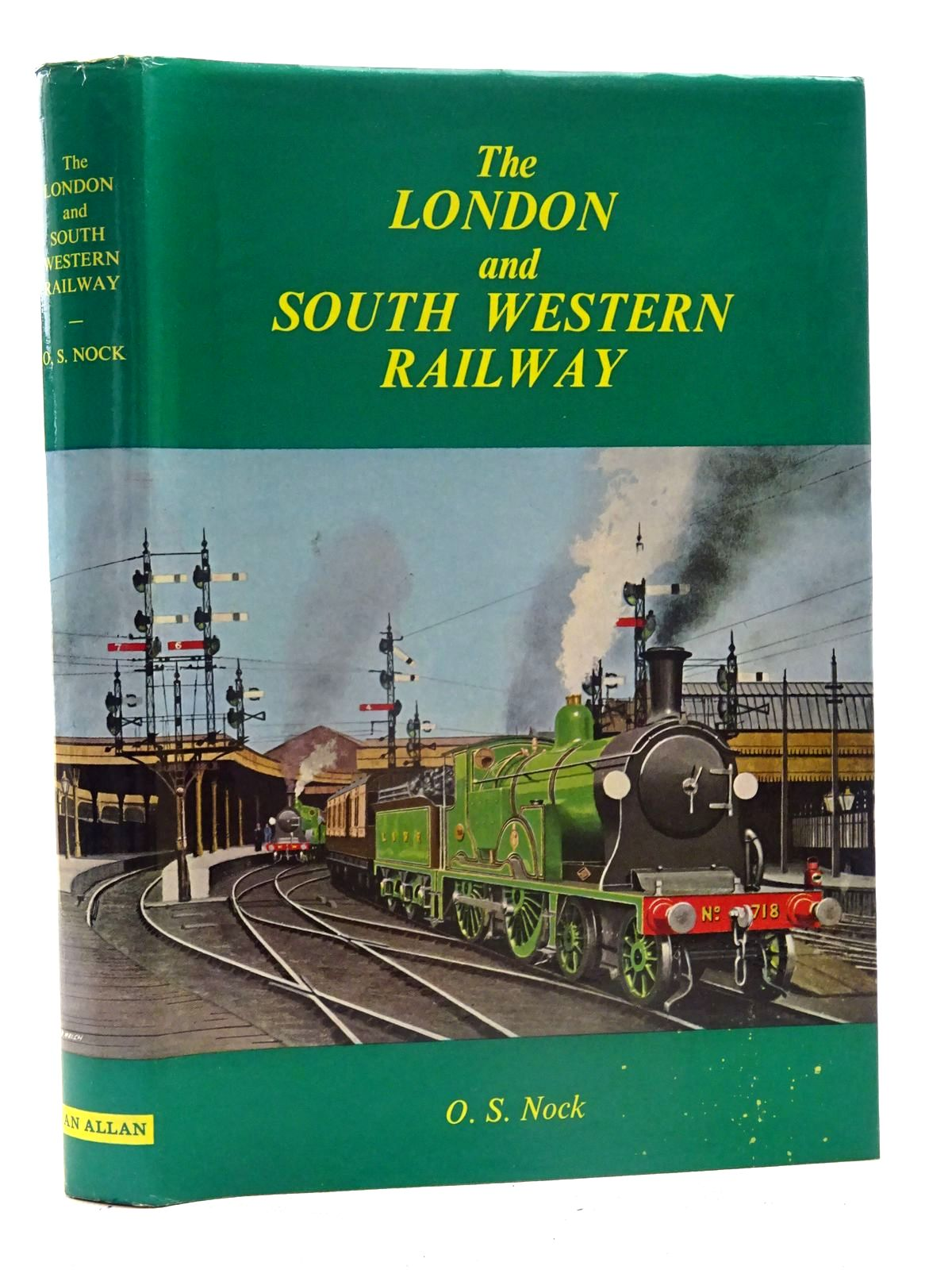 Photo of THE LONDON AND SOUTH WESTERN RAILWAY written by Nock, O.S. published by Ian Allan (STOCK CODE: 2125517)  for sale by Stella & Rose's Books