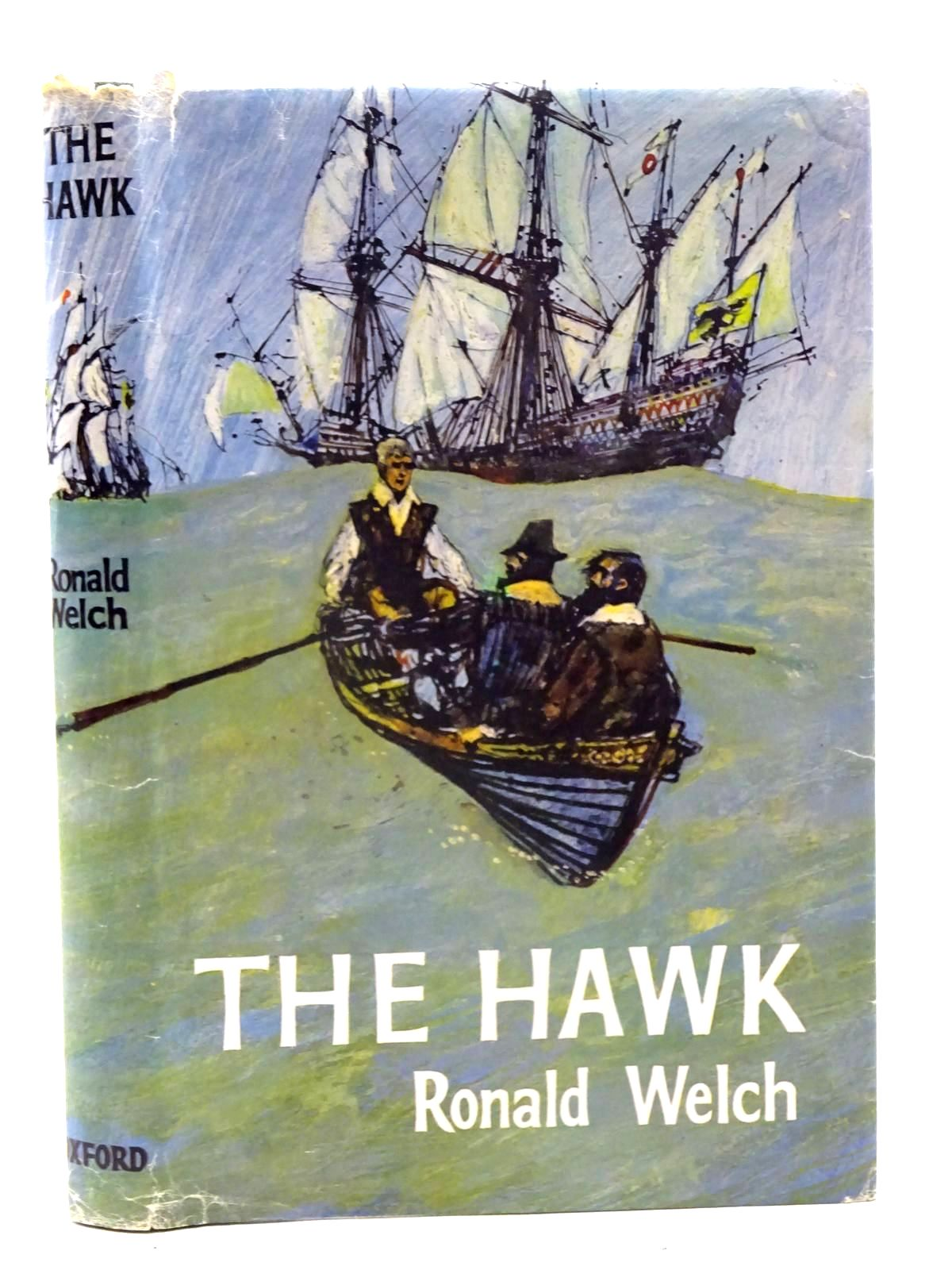 Photo of THE HAWK written by Welch, Ronald illustrated by Floyd, Gareth published by Oxford University Press (STOCK CODE: 2125564)  for sale by Stella & Rose's Books
