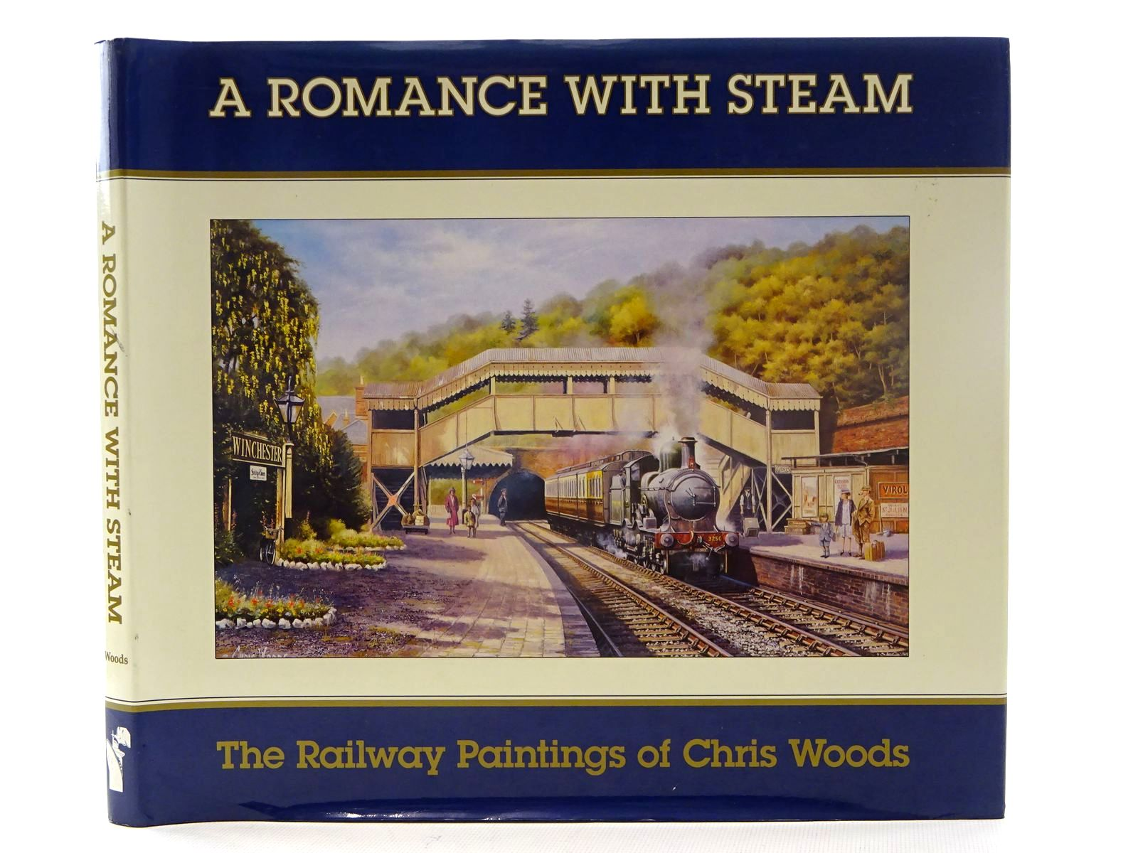 Photo of A ROMANCE WITH STEAM written by Woods, Chris illustrated by Woods, Chris published by Waterfront Publications (STOCK CODE: 2125622)  for sale by Stella & Rose's Books