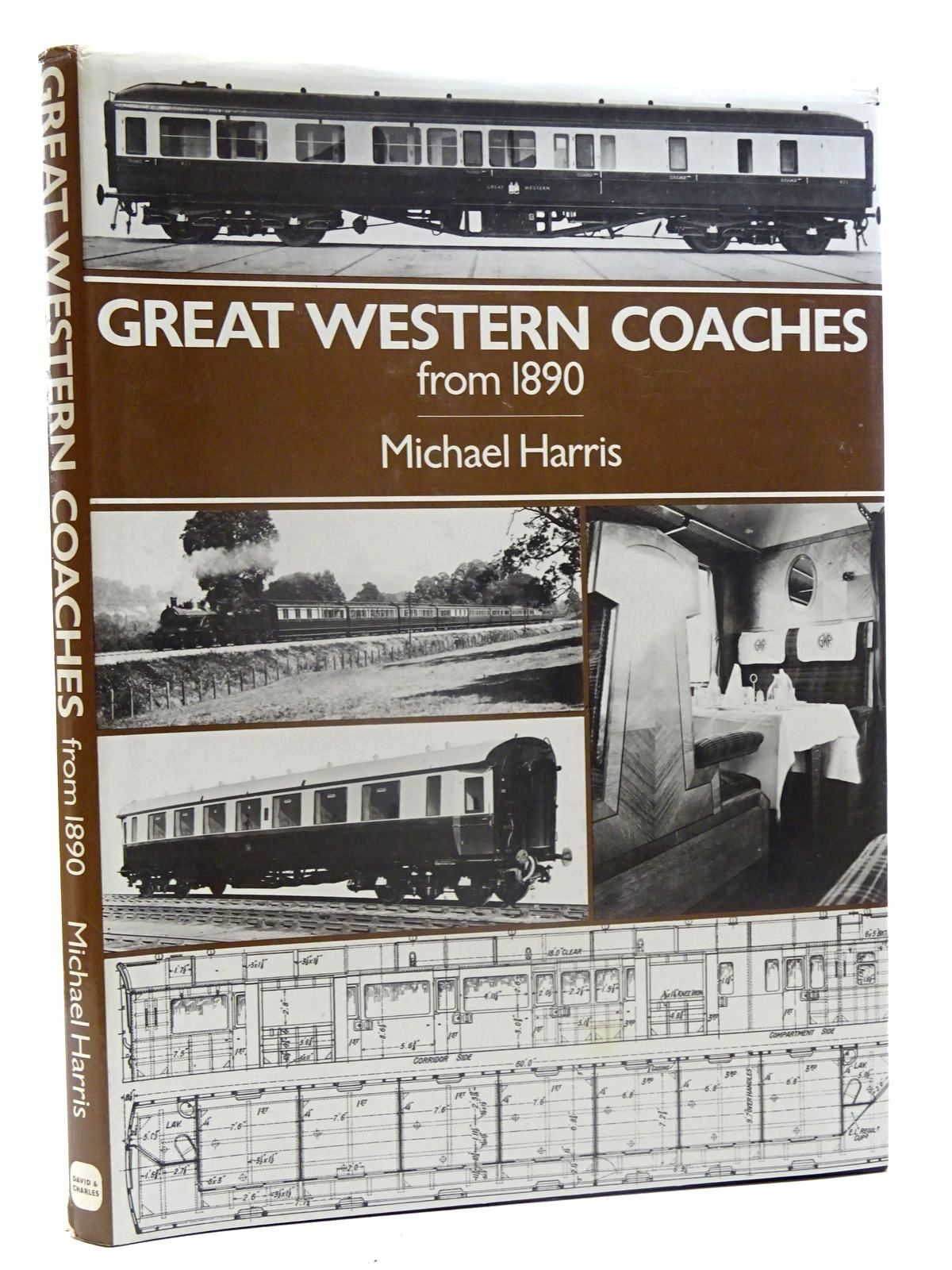 Photo of GREAT WESTERN COACHES FROM 1890 written by Harris, Michael published by David & Charles (STOCK CODE: 2125630)  for sale by Stella & Rose's Books