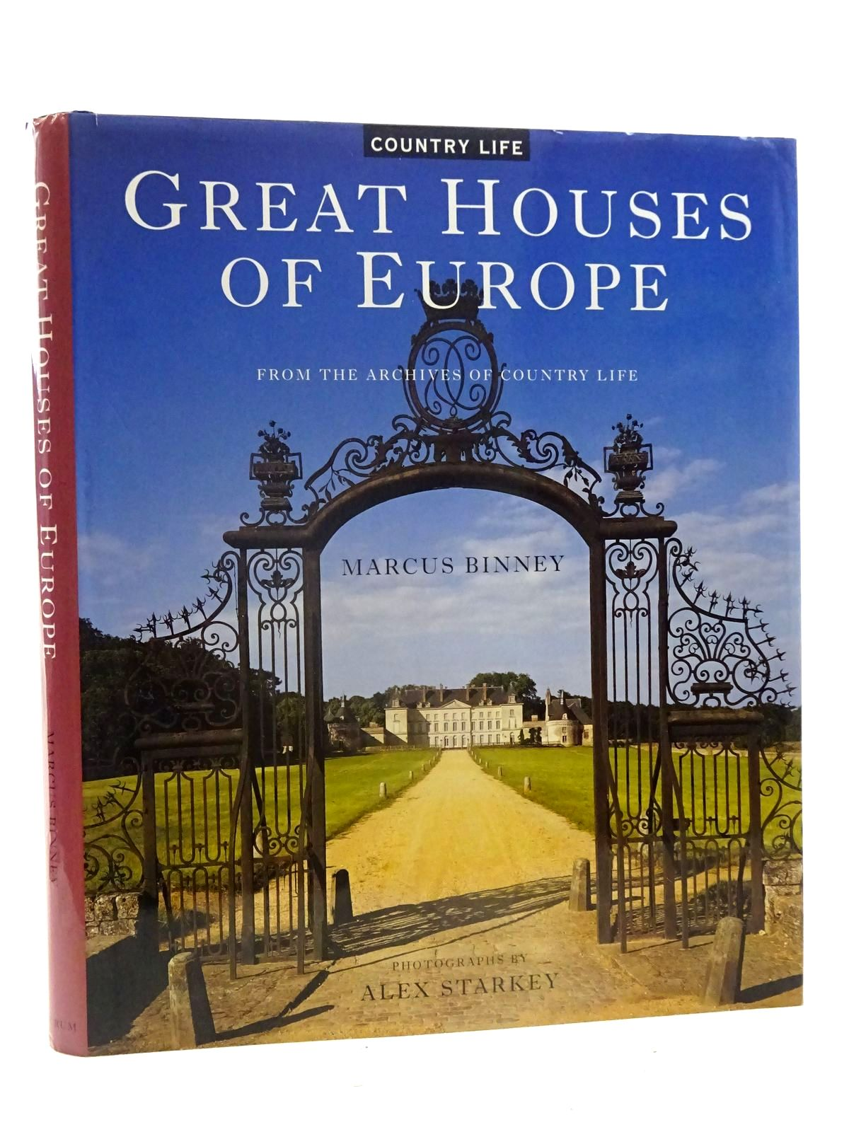 Photo of GREAT HOUSES OF EUROPE written by Binney, Marcus published by Aurum Press (STOCK CODE: 2125633)  for sale by Stella & Rose's Books