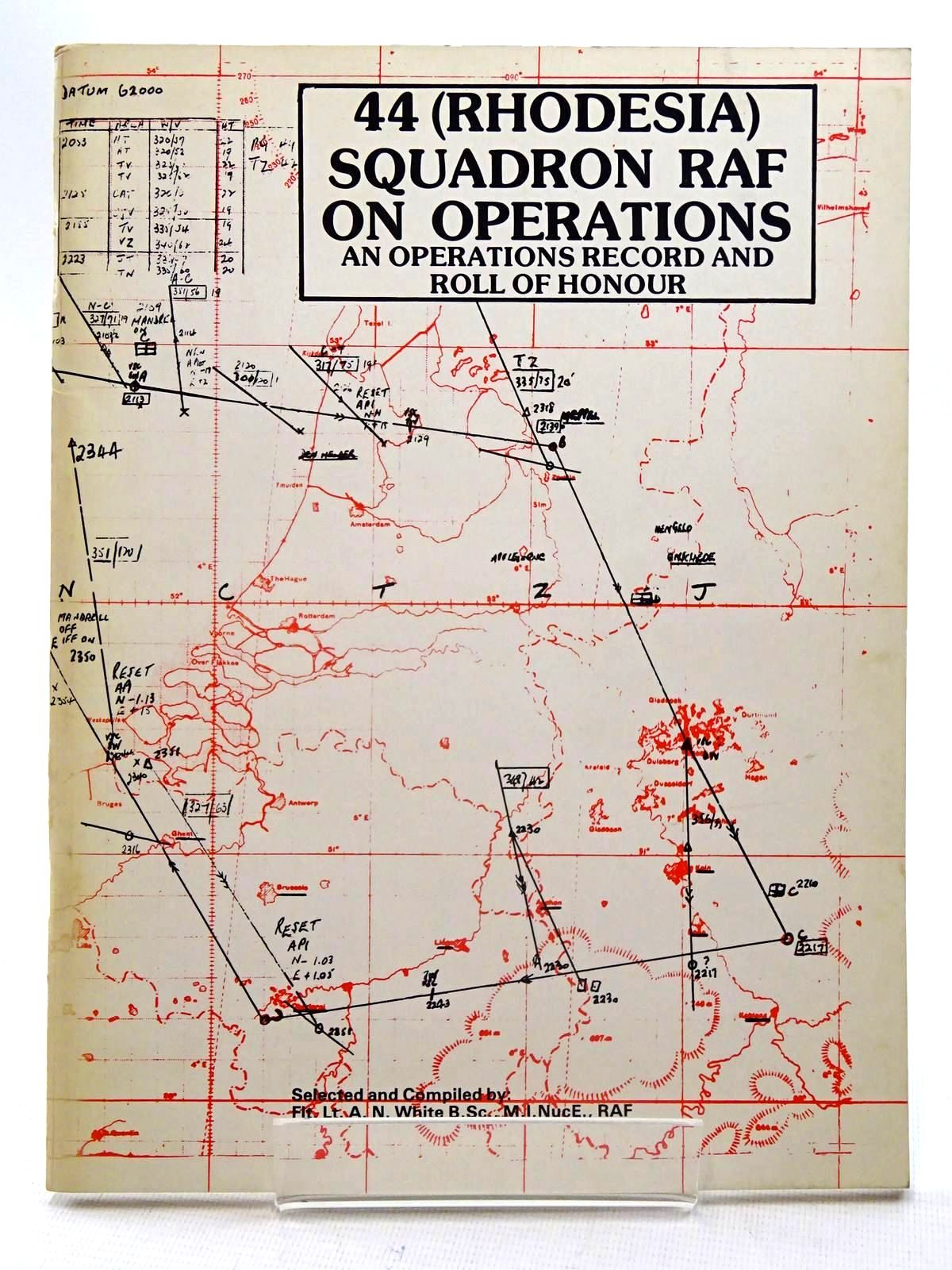 Photo of 44 (RHODESIA) SQUADRON ROYAL AIR FORCE ON OPERATIONS written by White, A.N. published by A.N. White (STOCK CODE: 2125643)  for sale by Stella & Rose's Books