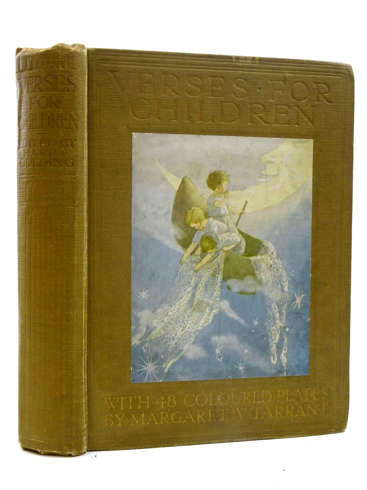 Photo of VERSES FOR CHILDREN written by Golding, Harry illustrated by Tarrant, Margaret published by Ward, Lock & Co. Ltd. (STOCK CODE: 2125658)  for sale by Stella & Rose's Books