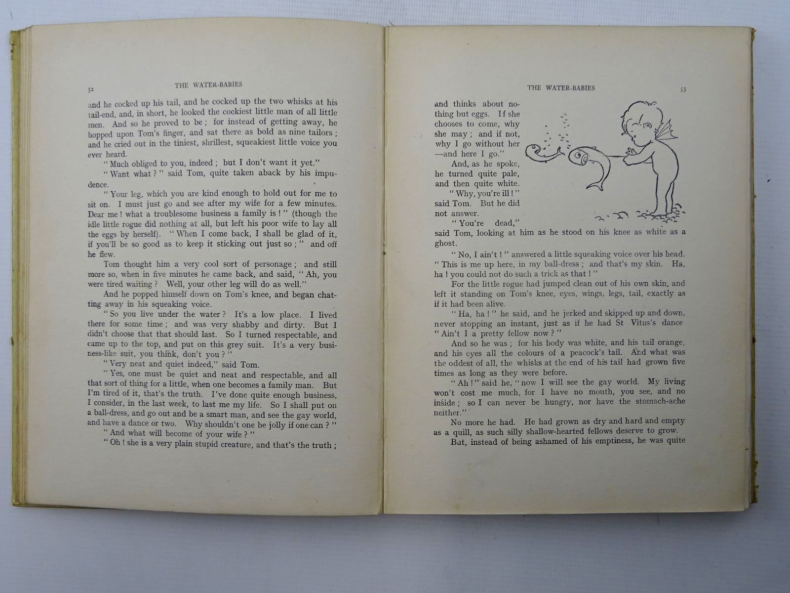 Photo of THE WATER BABIES written by Kingsley, Charles illustrated by Attwell, Mabel Lucie published by Raphael Tuck & Sons Ltd. (STOCK CODE: 2125663)  for sale by Stella & Rose's Books