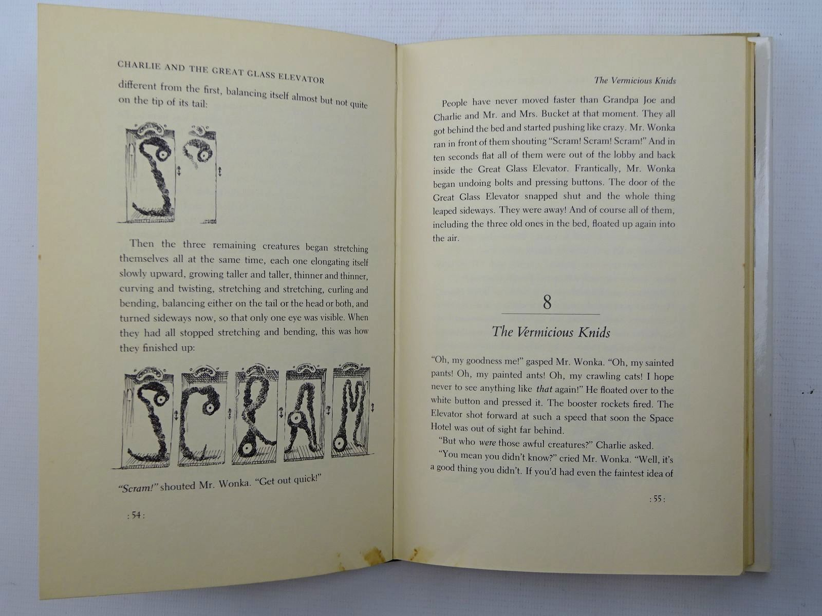 Photo of CHARLIE AND THE GREAT GLASS ELEVATOR written by Dahl, Roald illustrated by Schindelman, Joseph published by Alfred A. Knopf, Inc. (STOCK CODE: 2125668)  for sale by Stella & Rose's Books