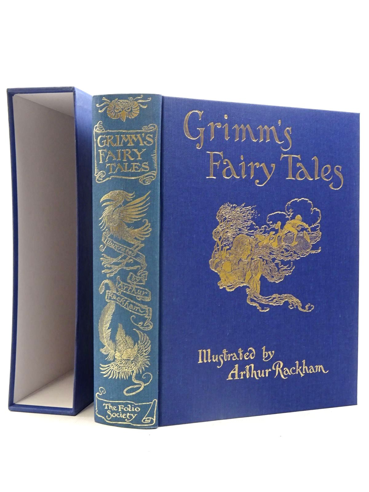 Photo of THE FAIRY TALES OF THE BROTHERS GRIMM written by Grimm, Brothers illustrated by Rackham, Arthur published by Folio Society (STOCK CODE: 2125680)  for sale by Stella & Rose's Books