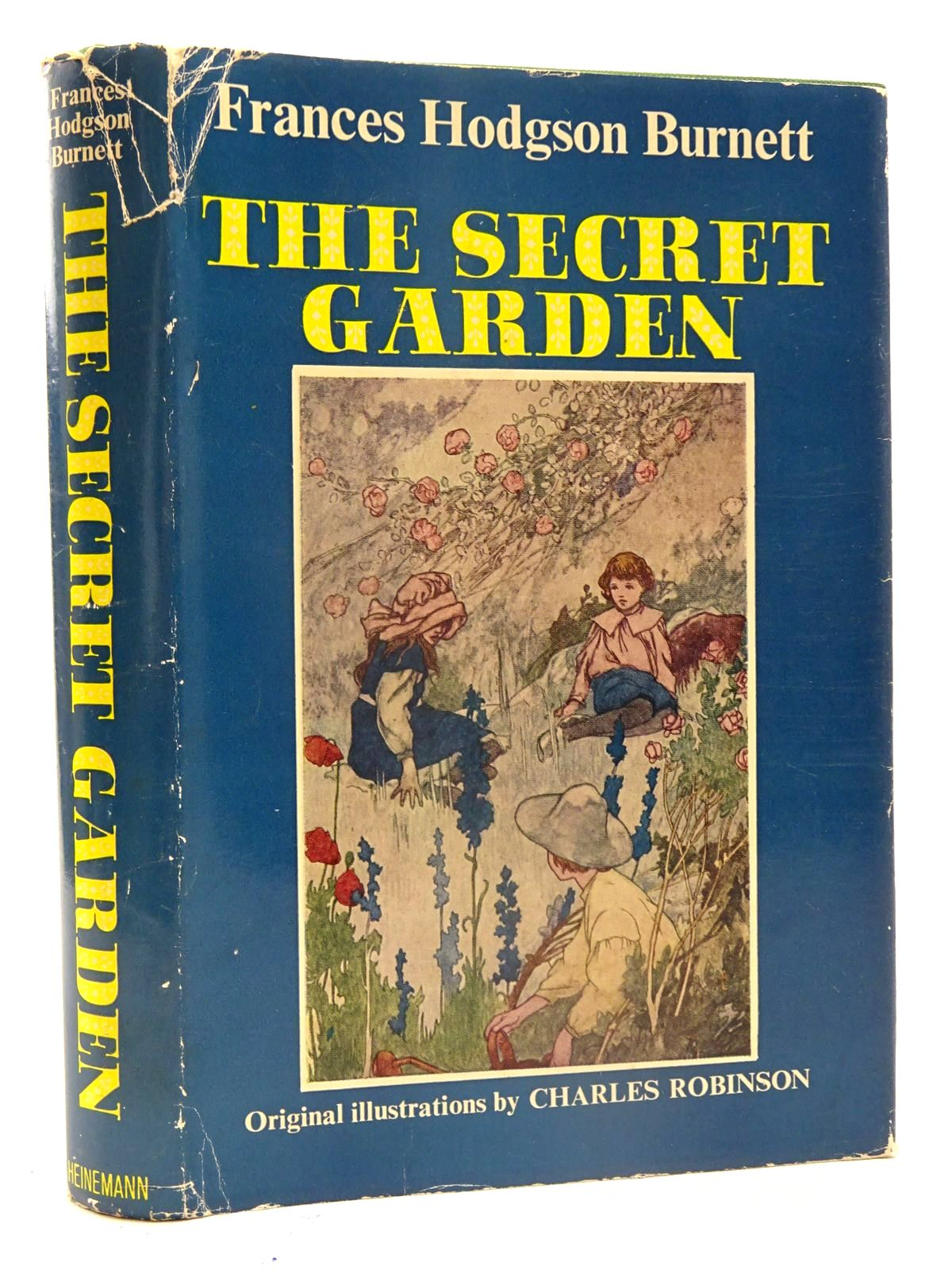 Photo of THE SECRET GARDEN written by Burnett, Frances Hodgson illustrated by Robinson, Charles published by Heinemann (STOCK CODE: 2125701)  for sale by Stella & Rose's Books