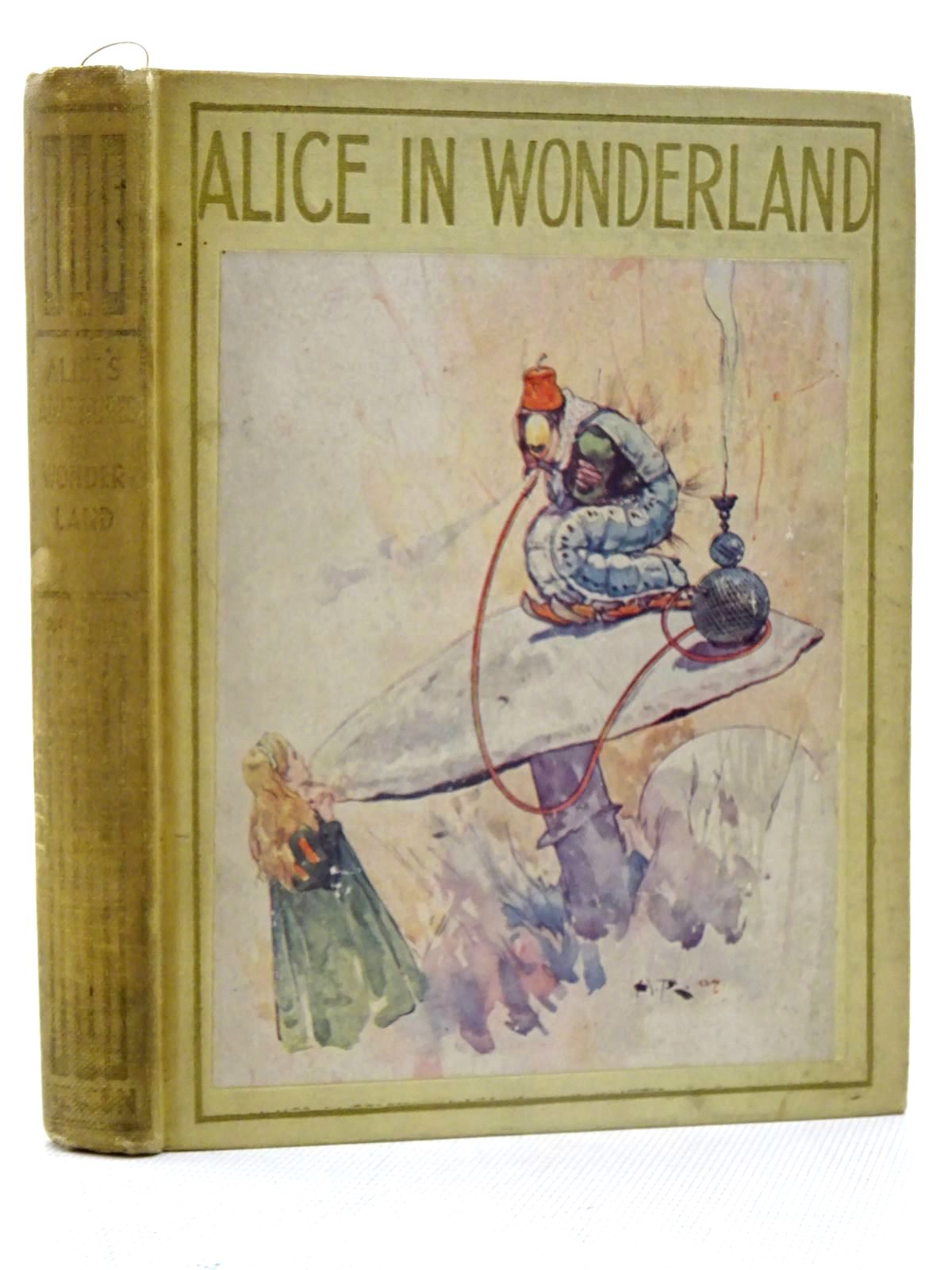 Photo of ALICE'S ADVENTURES IN WONDERLAND written by Carroll, Lewis illustrated by Rountree, Harry published by Thomas Nelson and Sons Ltd. (STOCK CODE: 2125710)  for sale by Stella & Rose's Books