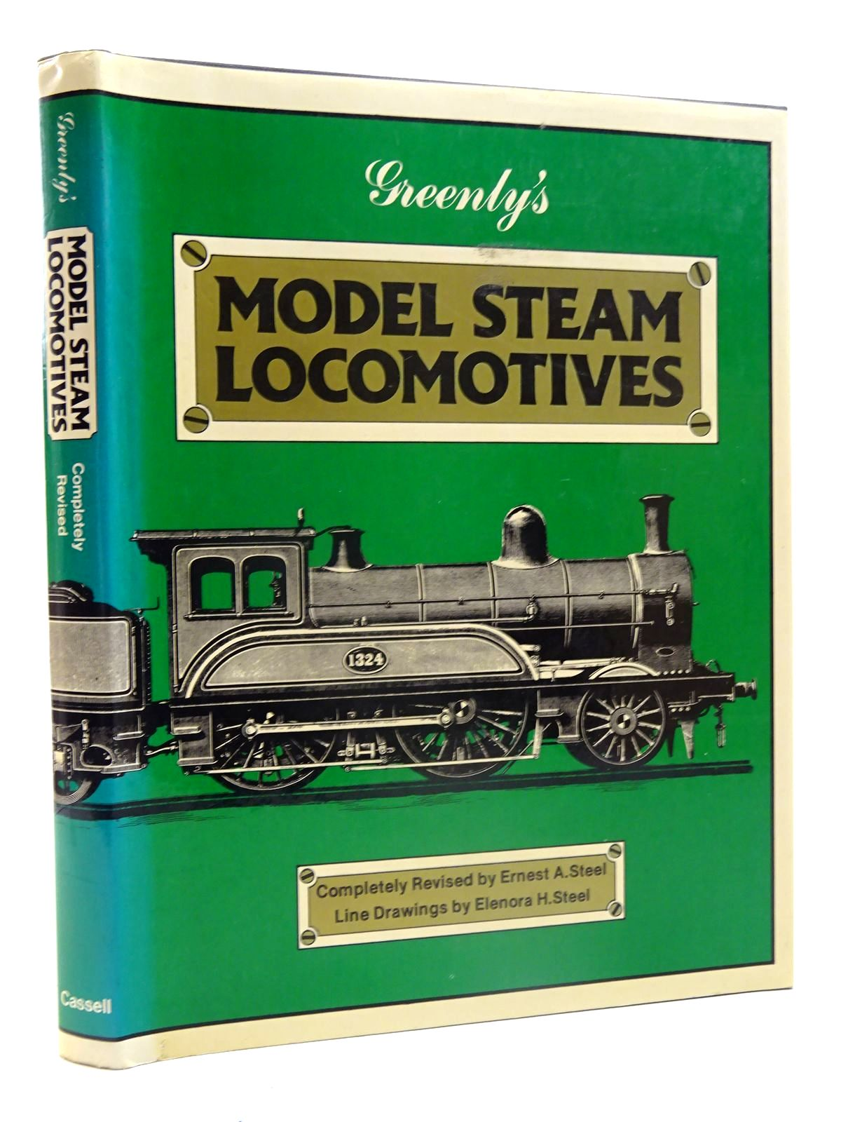 Photo of GREENLY'S MODEL STEAM LOCOMOTIVES written by Steel, Ernest A.<br />Greenly, Henry illustrated by Steel, Elenora H. published by Cassell (STOCK CODE: 2125740)  for sale by Stella & Rose's Books