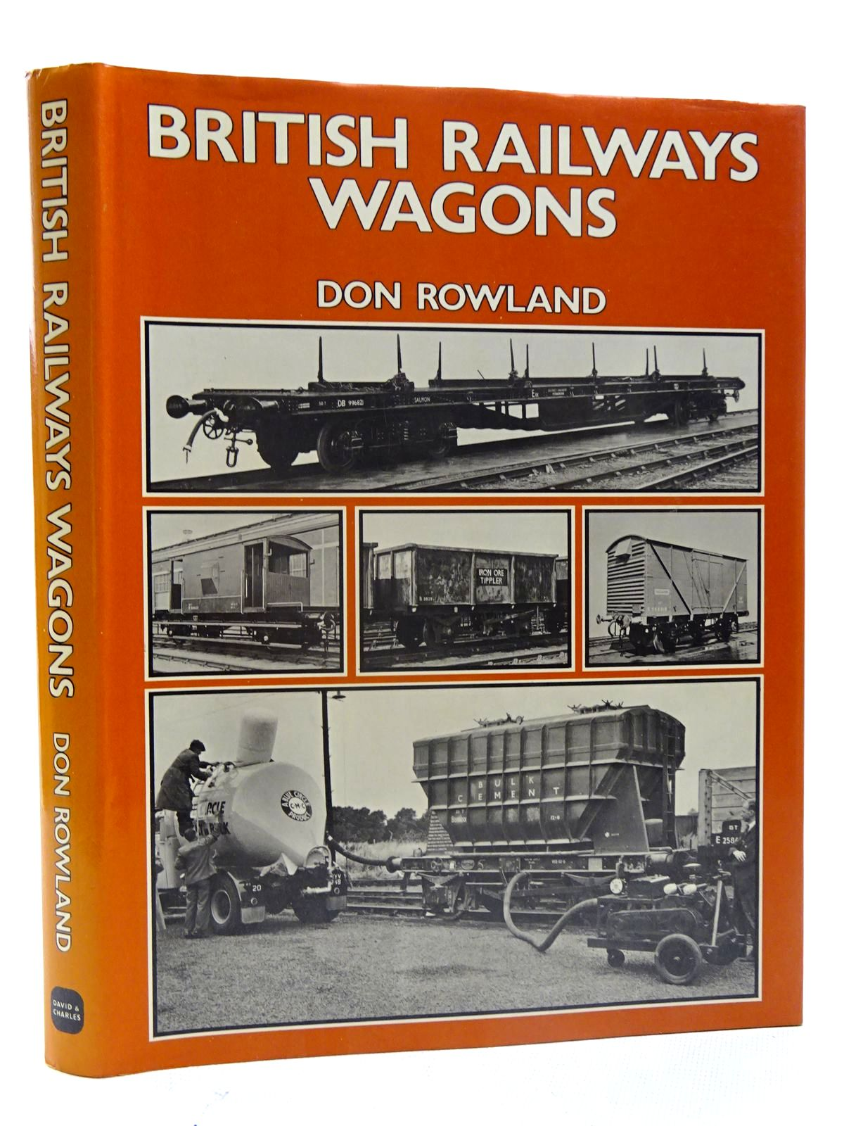 Photo of BRITISH RAILWAYS WAGONS THE FIRST HALF MILLION written by Rowland, Don published by David & Charles (STOCK CODE: 2125741)  for sale by Stella & Rose's Books